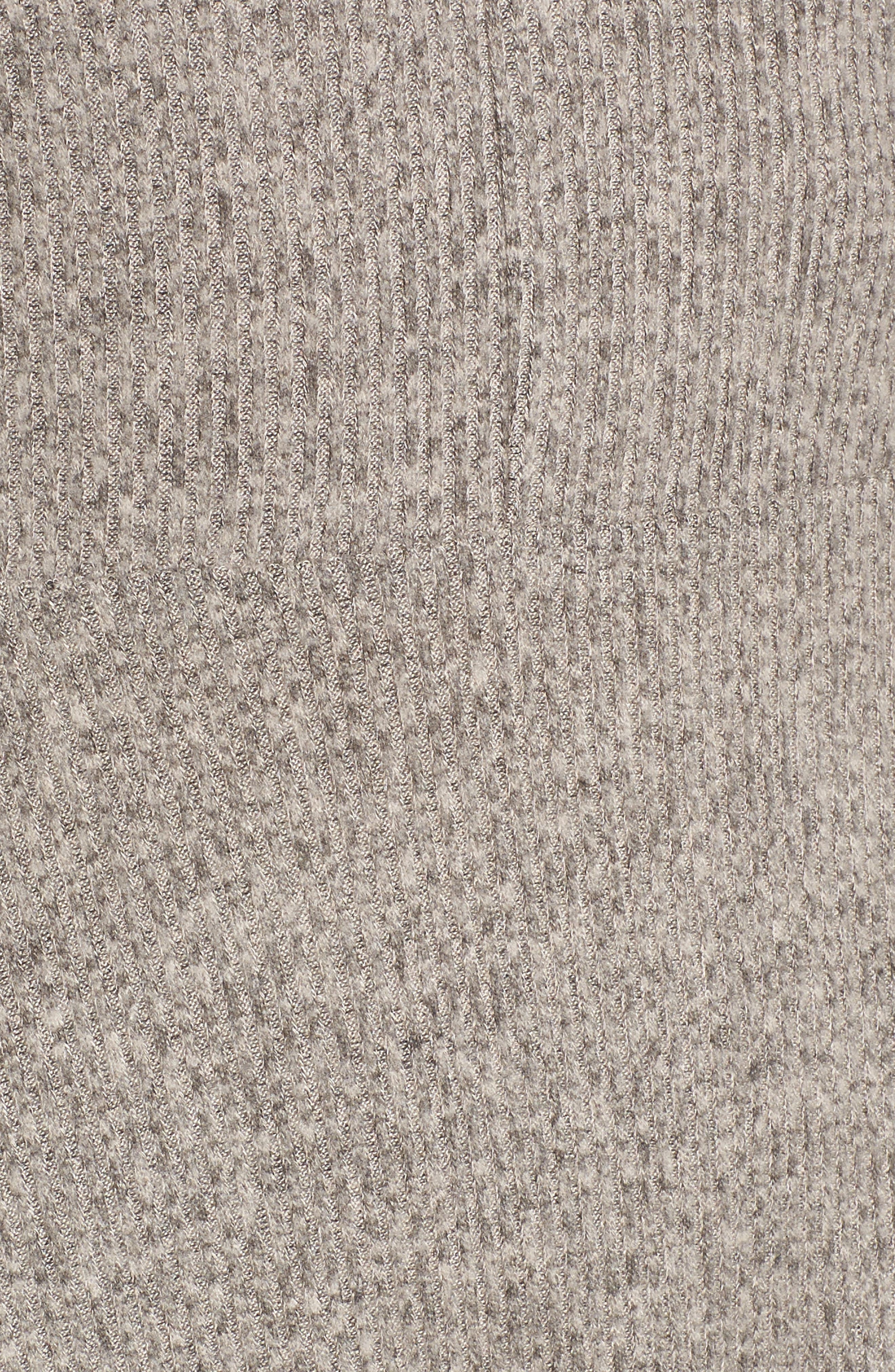 Choker Neck Cold Shoulder Midi Dress,                             Alternate thumbnail 5, color,