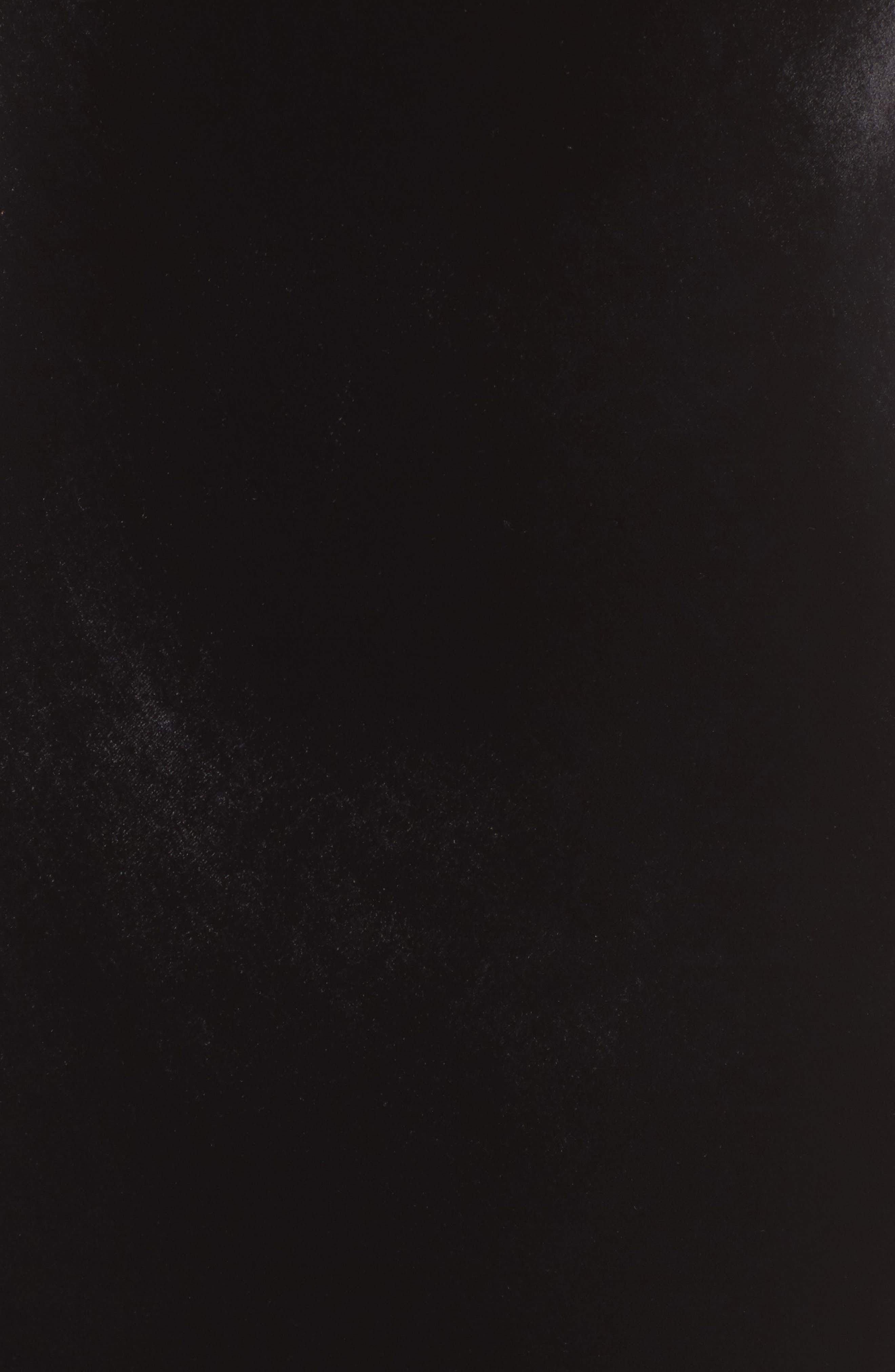 Gia Velvet Slipdress,                             Alternate thumbnail 5, color,                             001