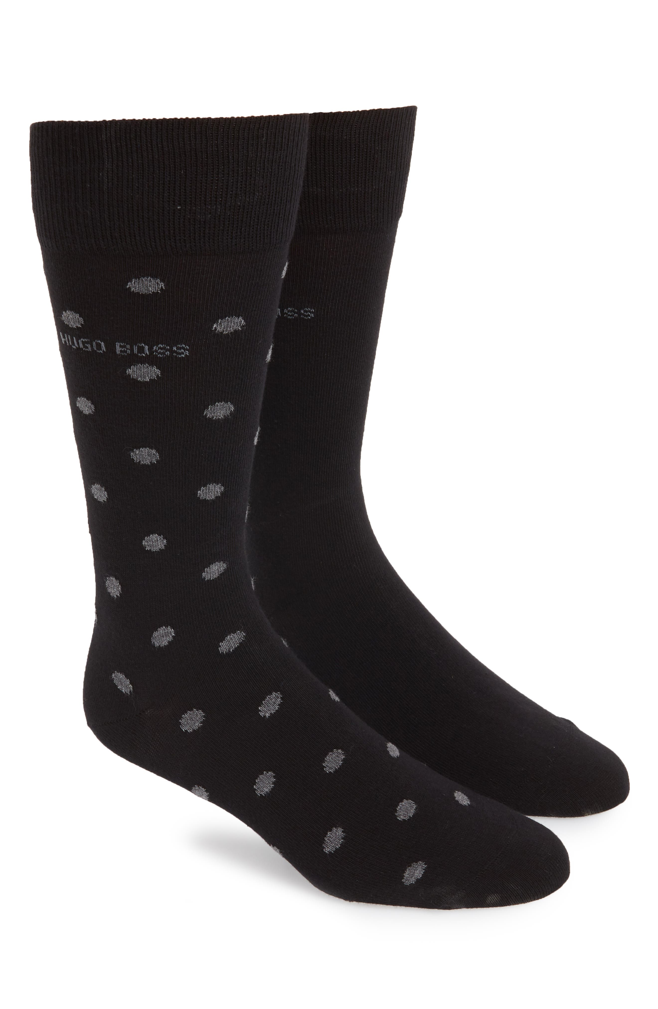 Dot Socks,                         Main,                         color, 001