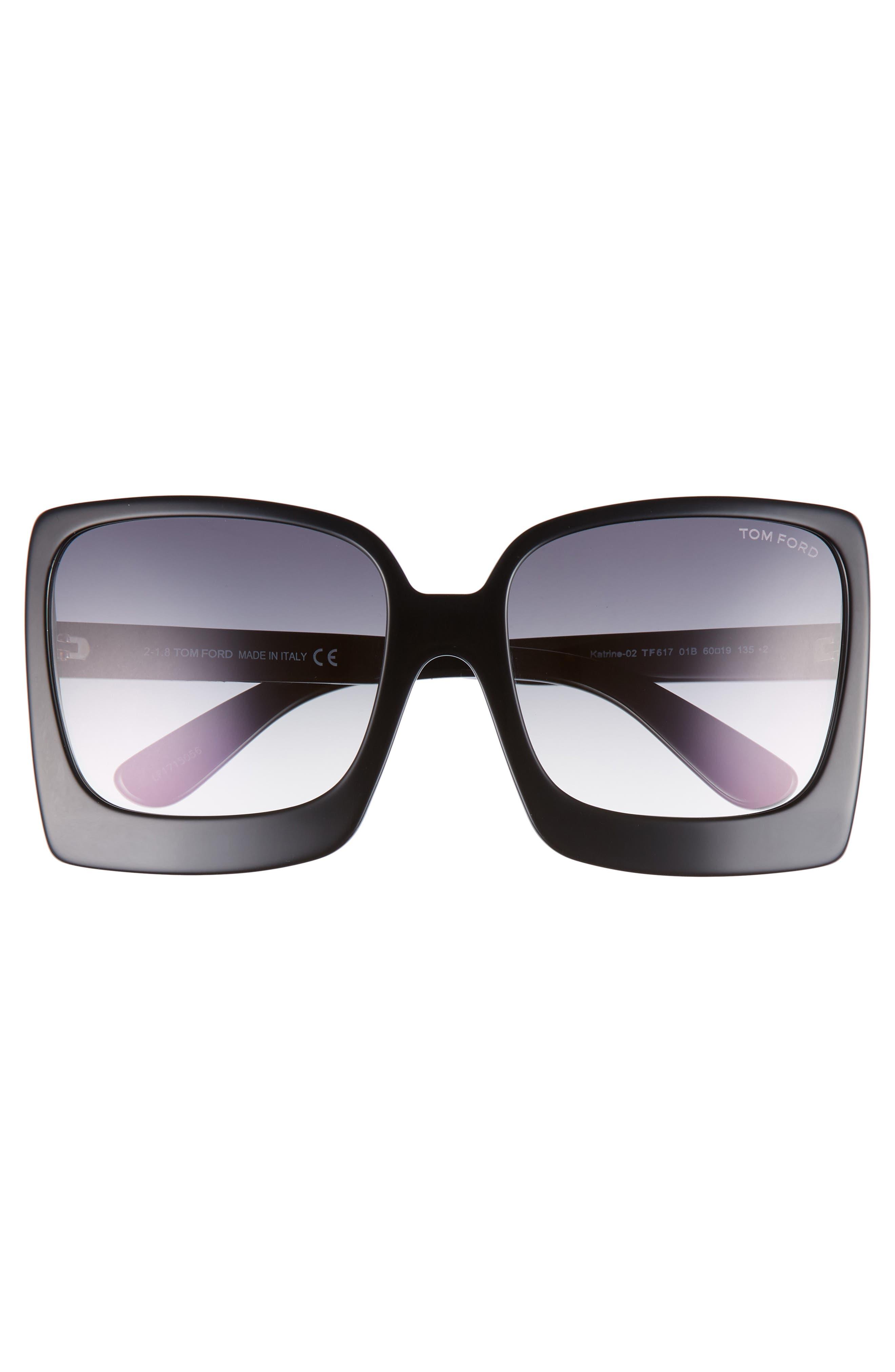 Katrine 60mm Sunglasses,                             Alternate thumbnail 3, color,                             012