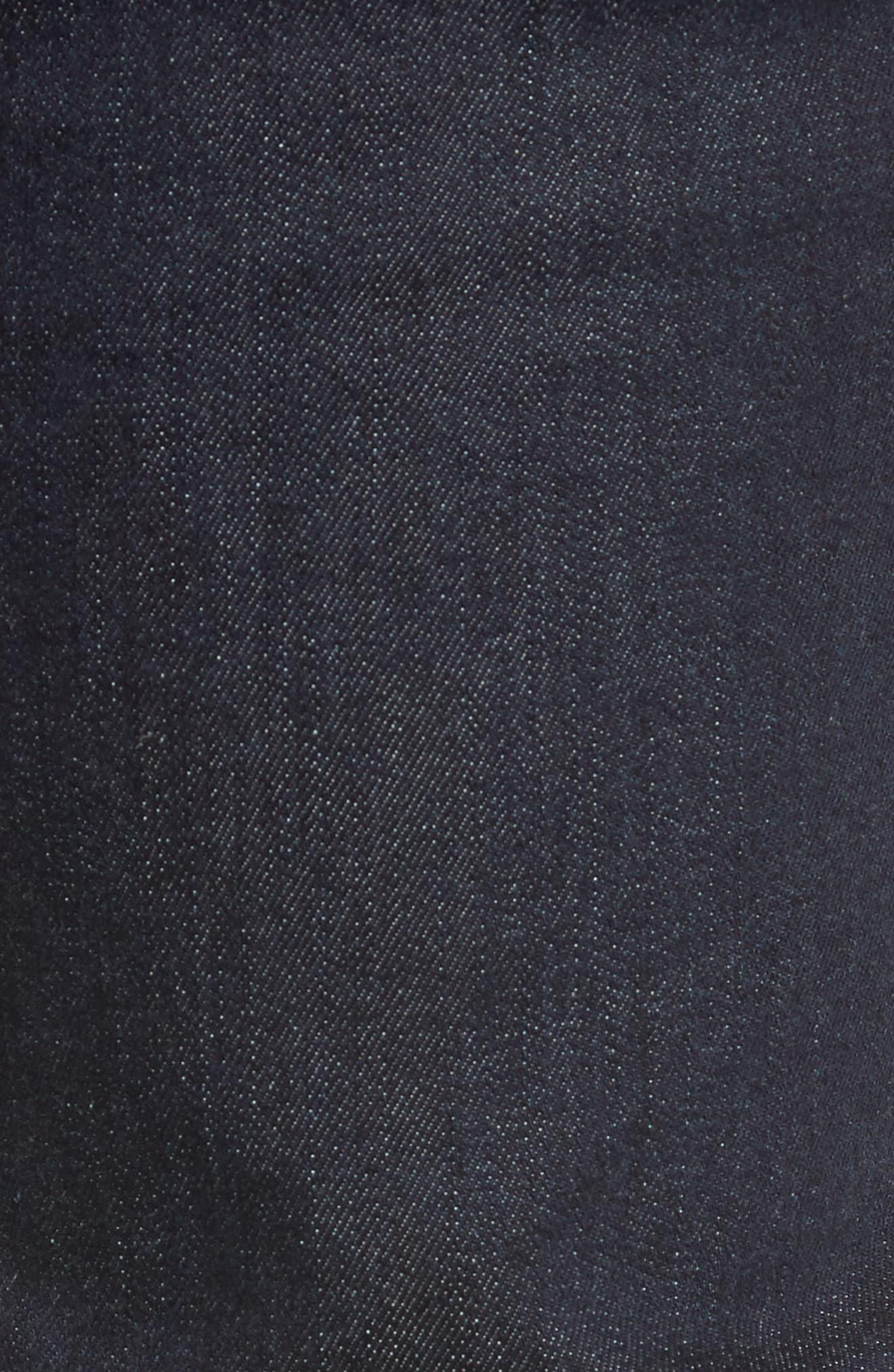 Slim Fit Jeans,                             Alternate thumbnail 5, color,                             SMOKE