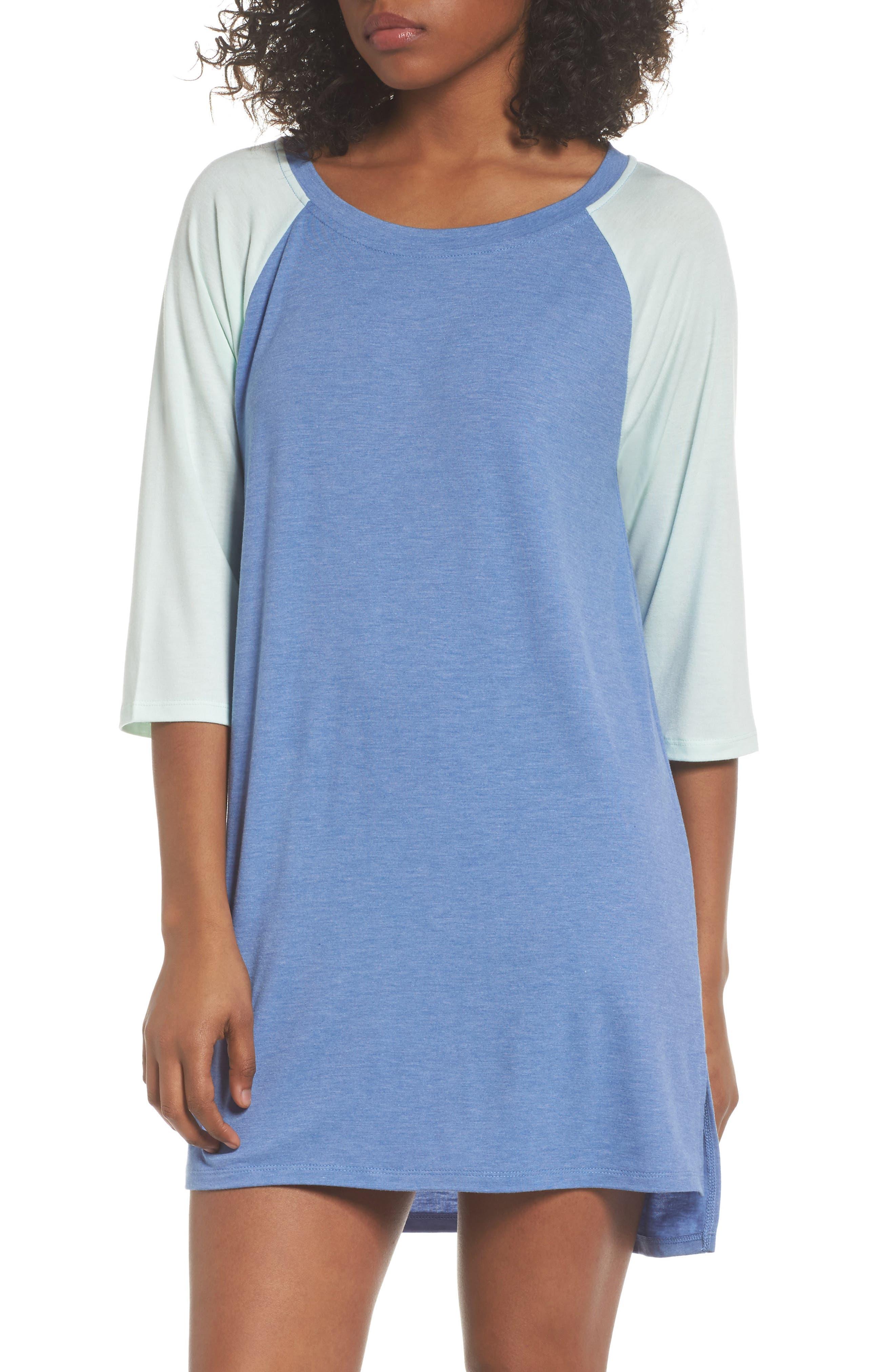 Honeydew All American Sleep Shirt,                             Main thumbnail 3, color,