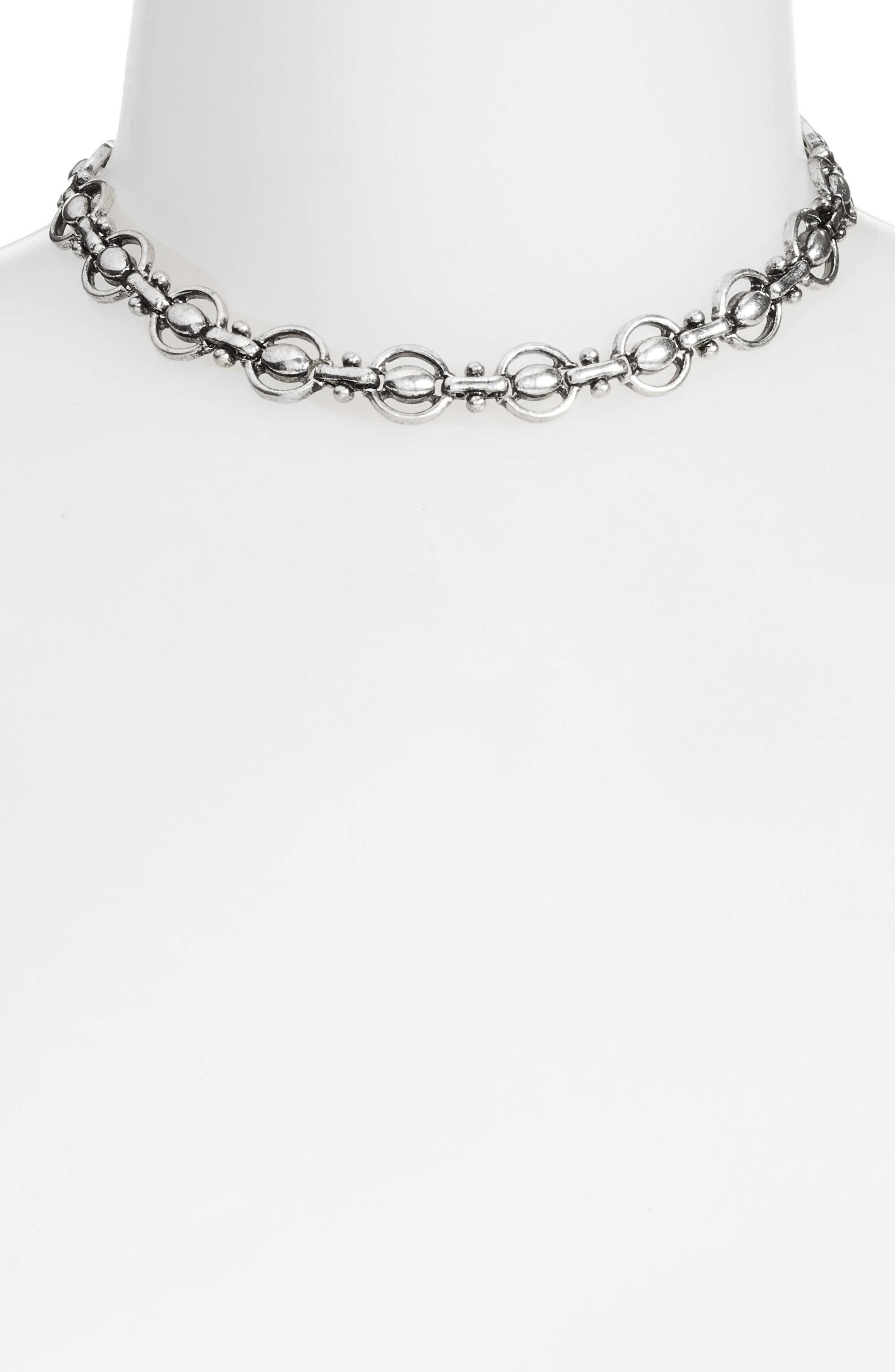 Chain Choker,                             Alternate thumbnail 2, color,                             040