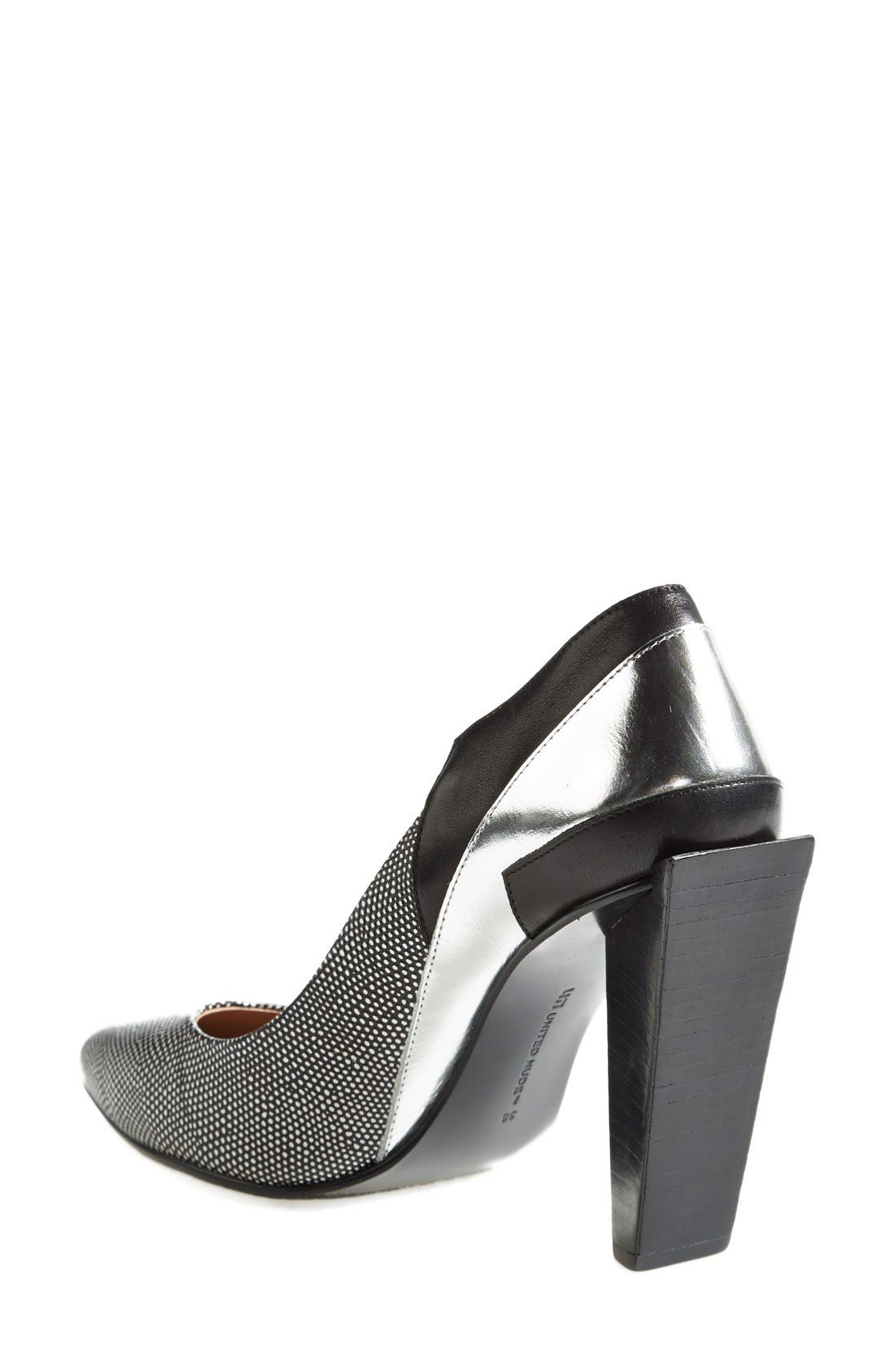 UNITED NUDE COLLECTION,                             'Ruby Hi' Pump,                             Alternate thumbnail 4, color,                             006