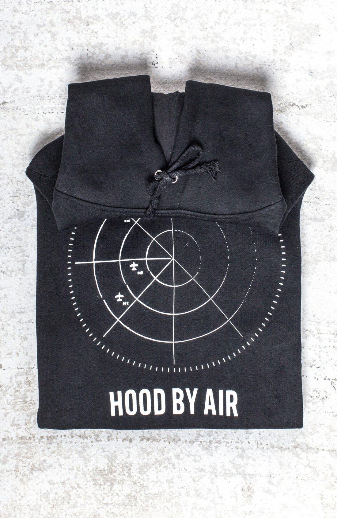 VFILES,                             'Hood By Air - Radar' Hoodie,                             Main thumbnail 1, color,                             001