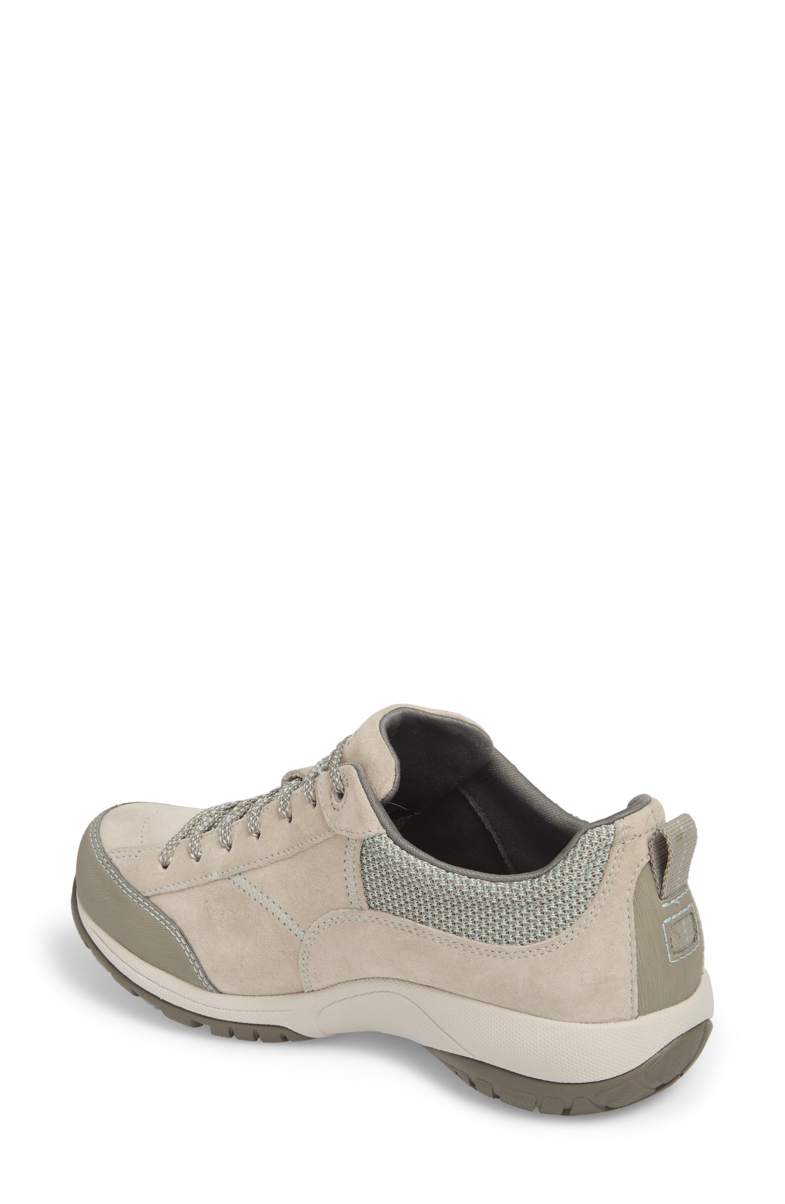 Paisley Waterproof Sneaker,                             Alternate thumbnail 2, color,                             STONE SUEDE