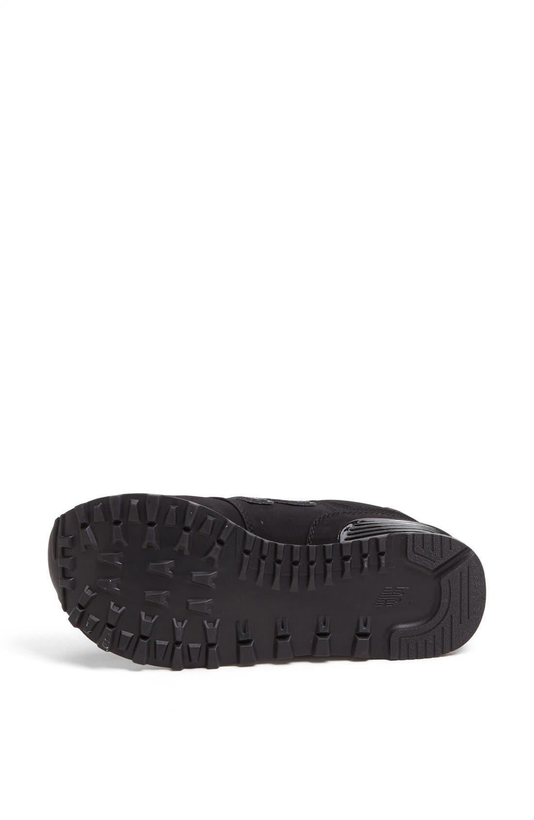 NEW BALANCE,                             '574' Sneaker,                             Alternate thumbnail 3, color,                             001