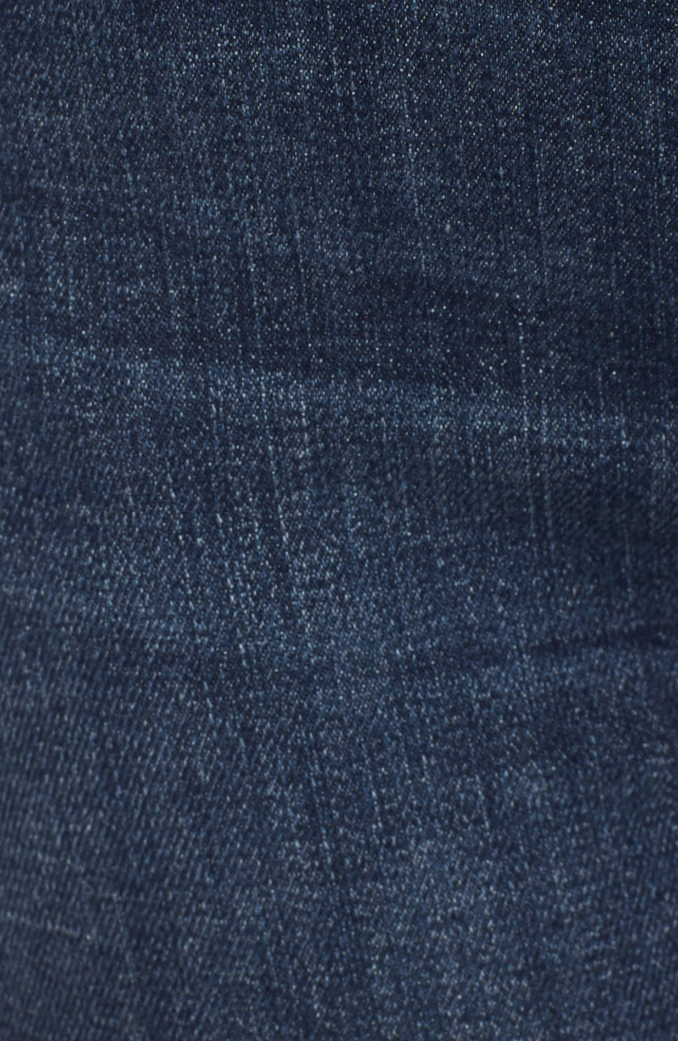 The Charmer Fray Denim Shorts,                             Alternate thumbnail 6, color,                             417