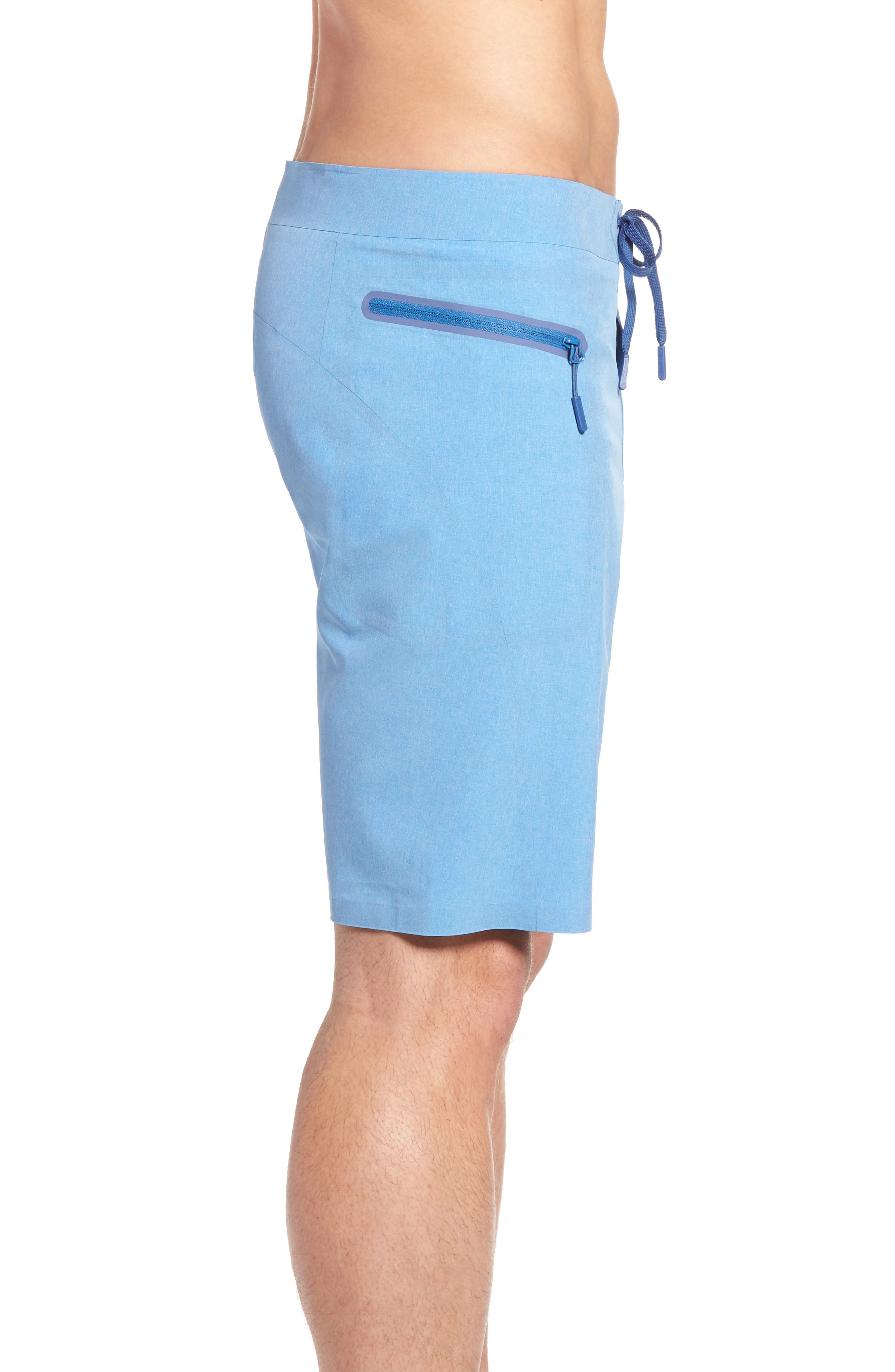 Heather Stretch Board Shorts,                             Alternate thumbnail 11, color,