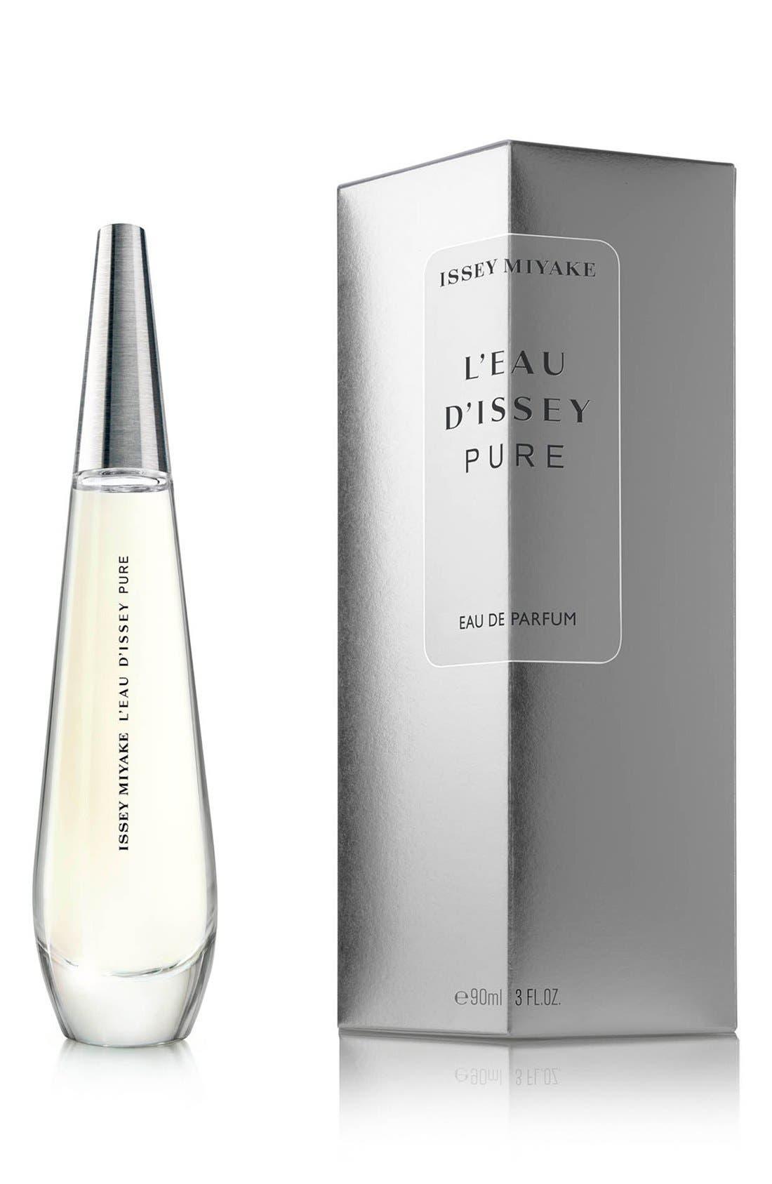 'L'Eau d'Issey Pure' Eau de Parfum Spray,                             Alternate thumbnail 2, color,                             NO COLOR