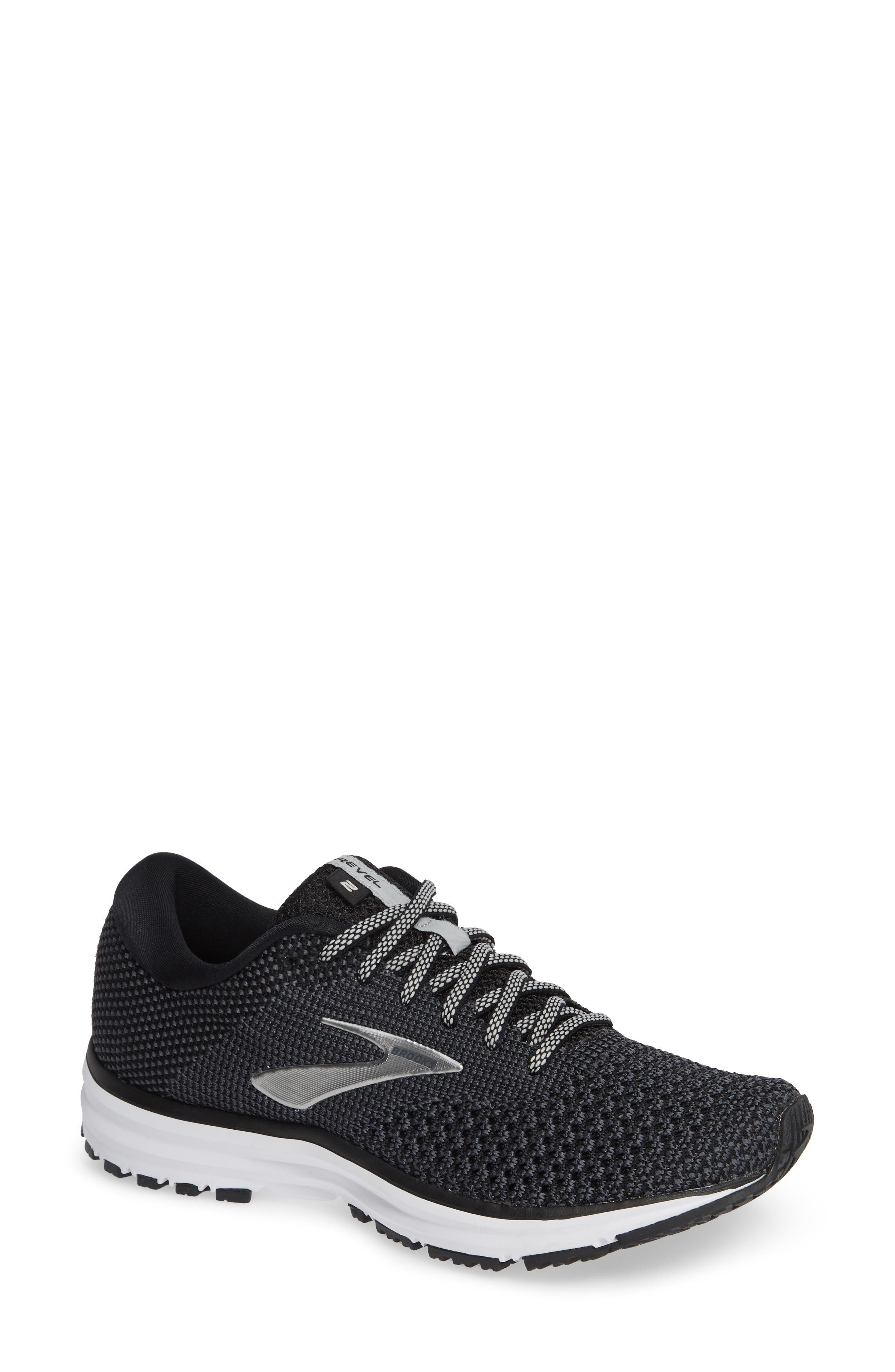 Revel 2 Running Shoe,                             Main thumbnail 1, color,                             BLACK/ GREY/ GREY