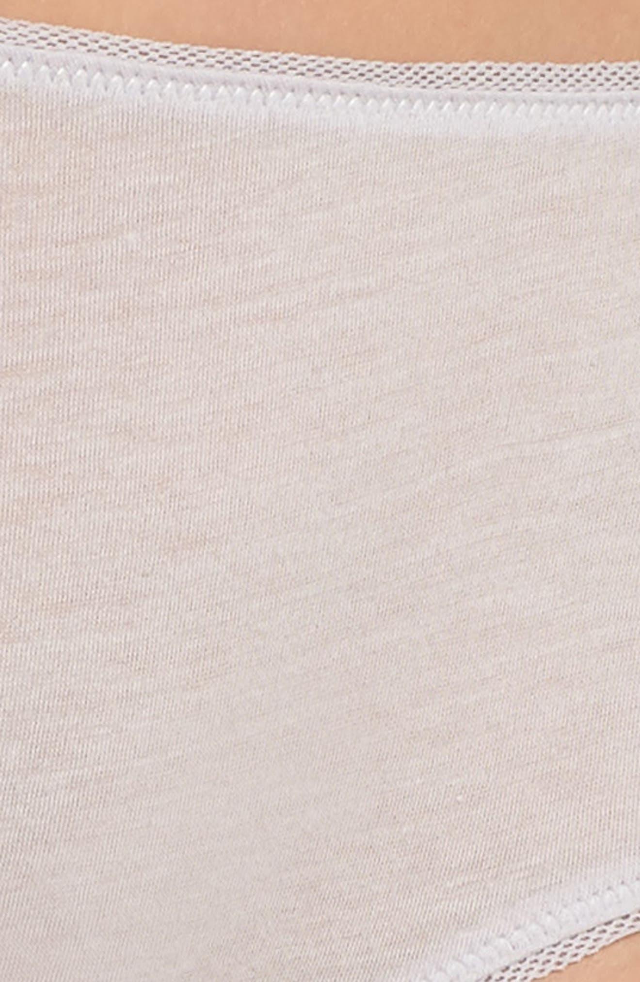 Organic Pima Cotton Hipster Briefs,                             Alternate thumbnail 7, color,