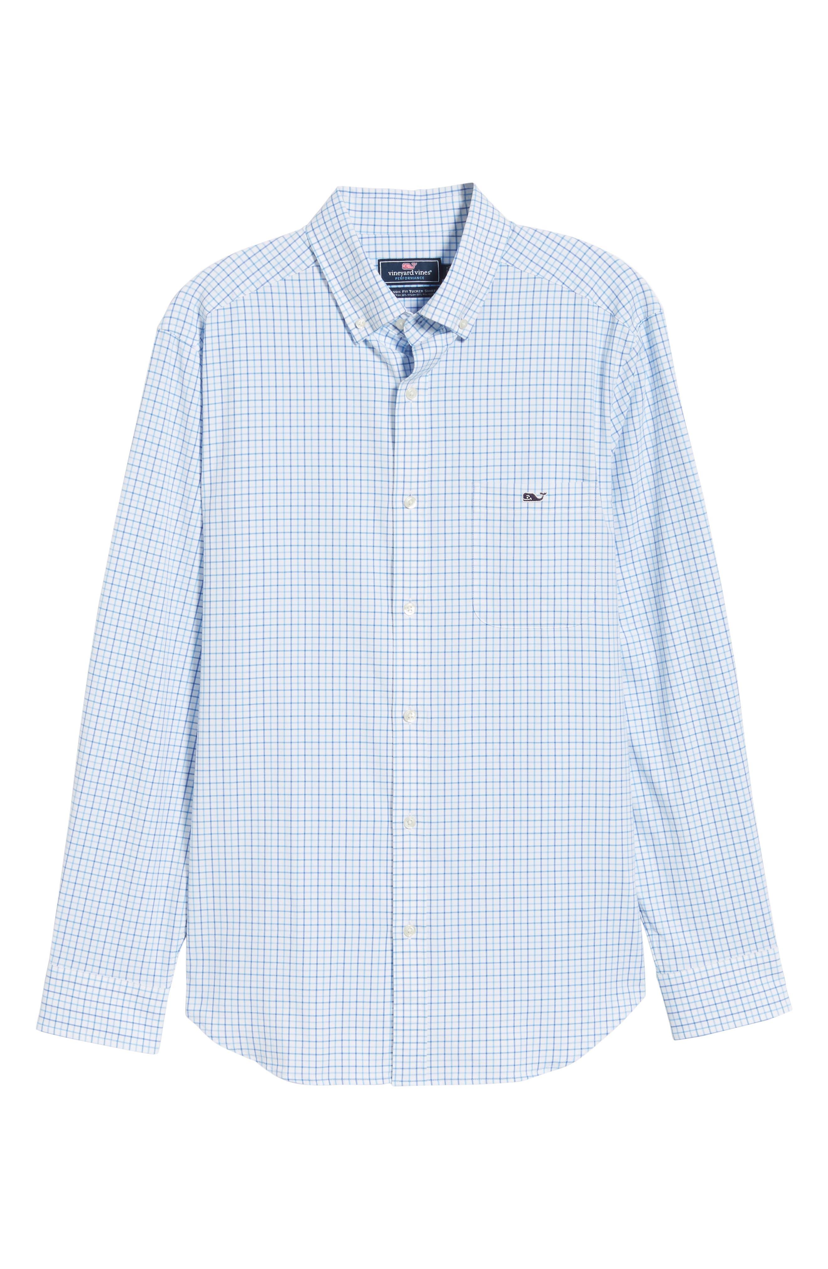 Pepperbush Regular Fit Plaid Sport Shirt,                             Alternate thumbnail 5, color,                             427