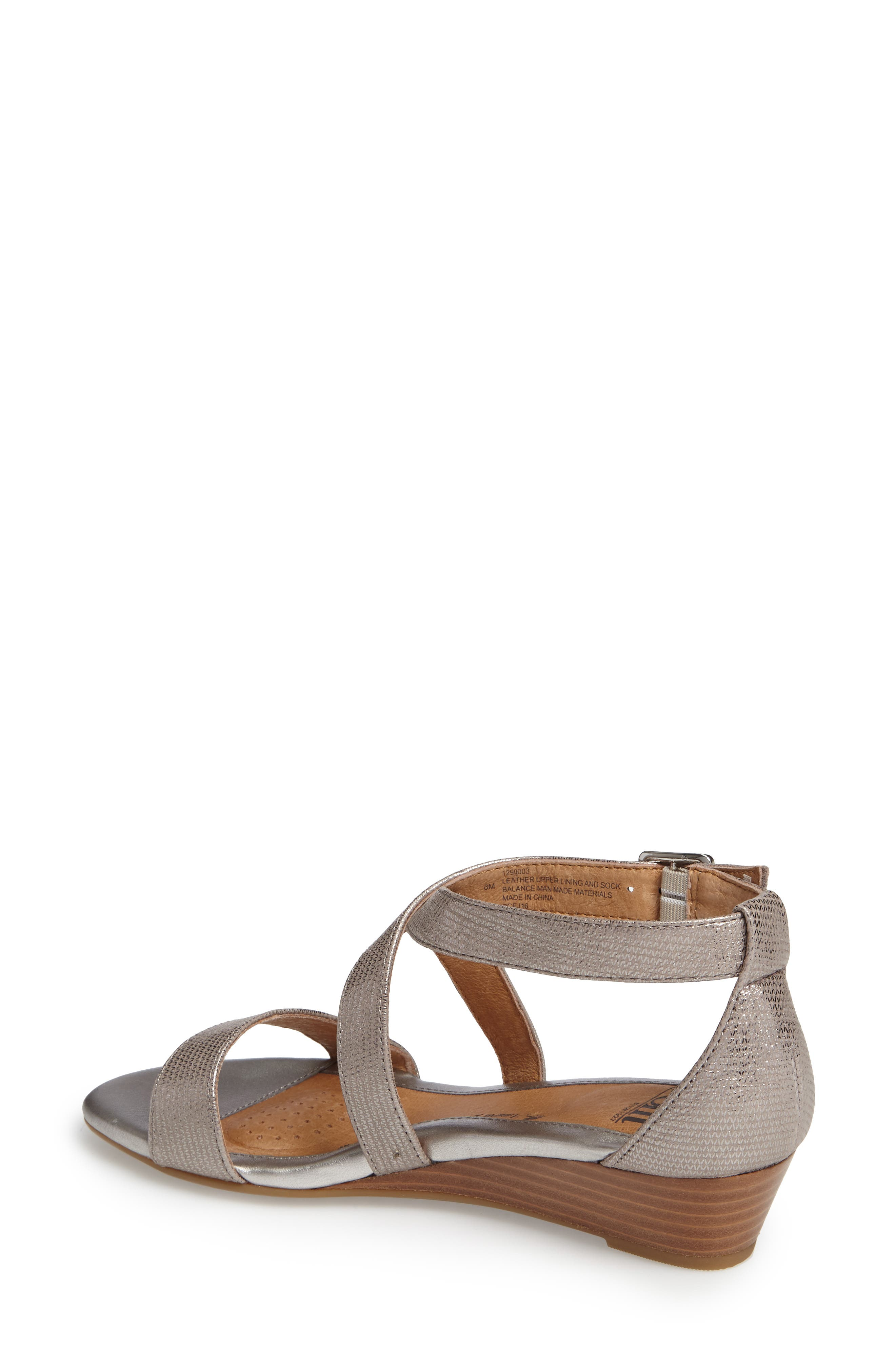 'Innis' Low Wedge Sandal,                             Alternate thumbnail 18, color,