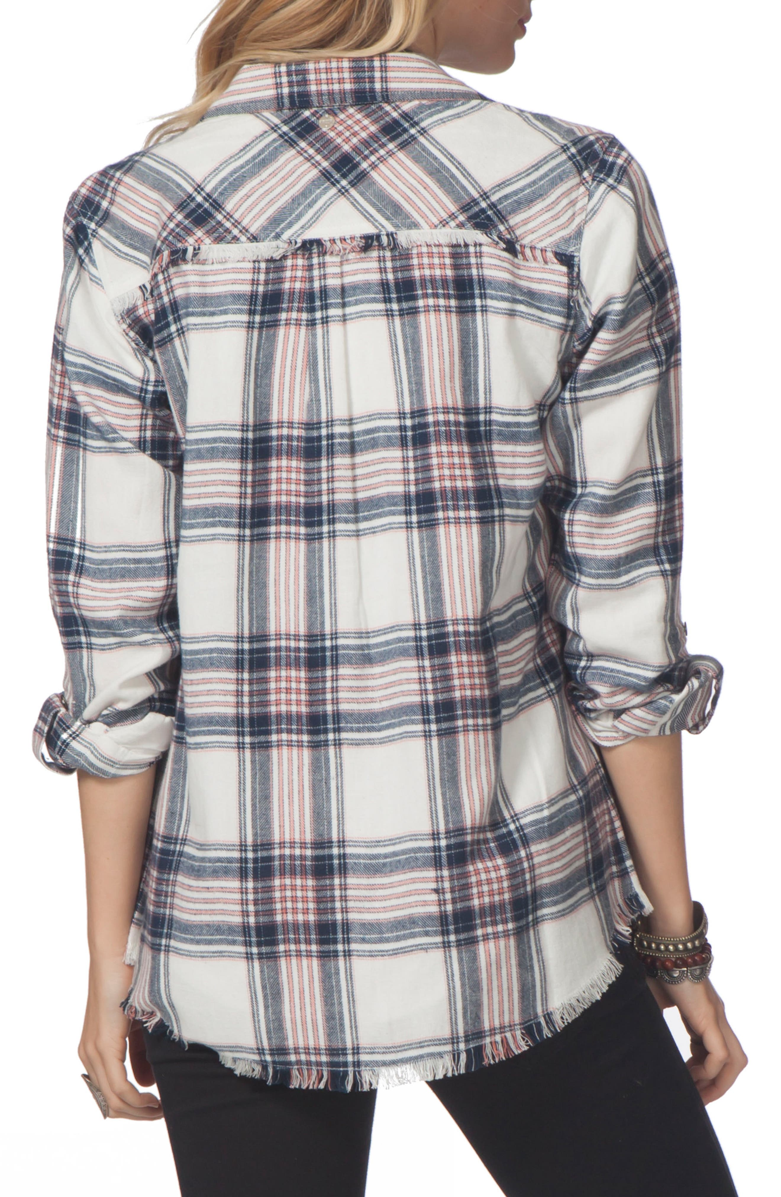 Open Skies Flannel Shirt,                             Alternate thumbnail 2, color,                             100