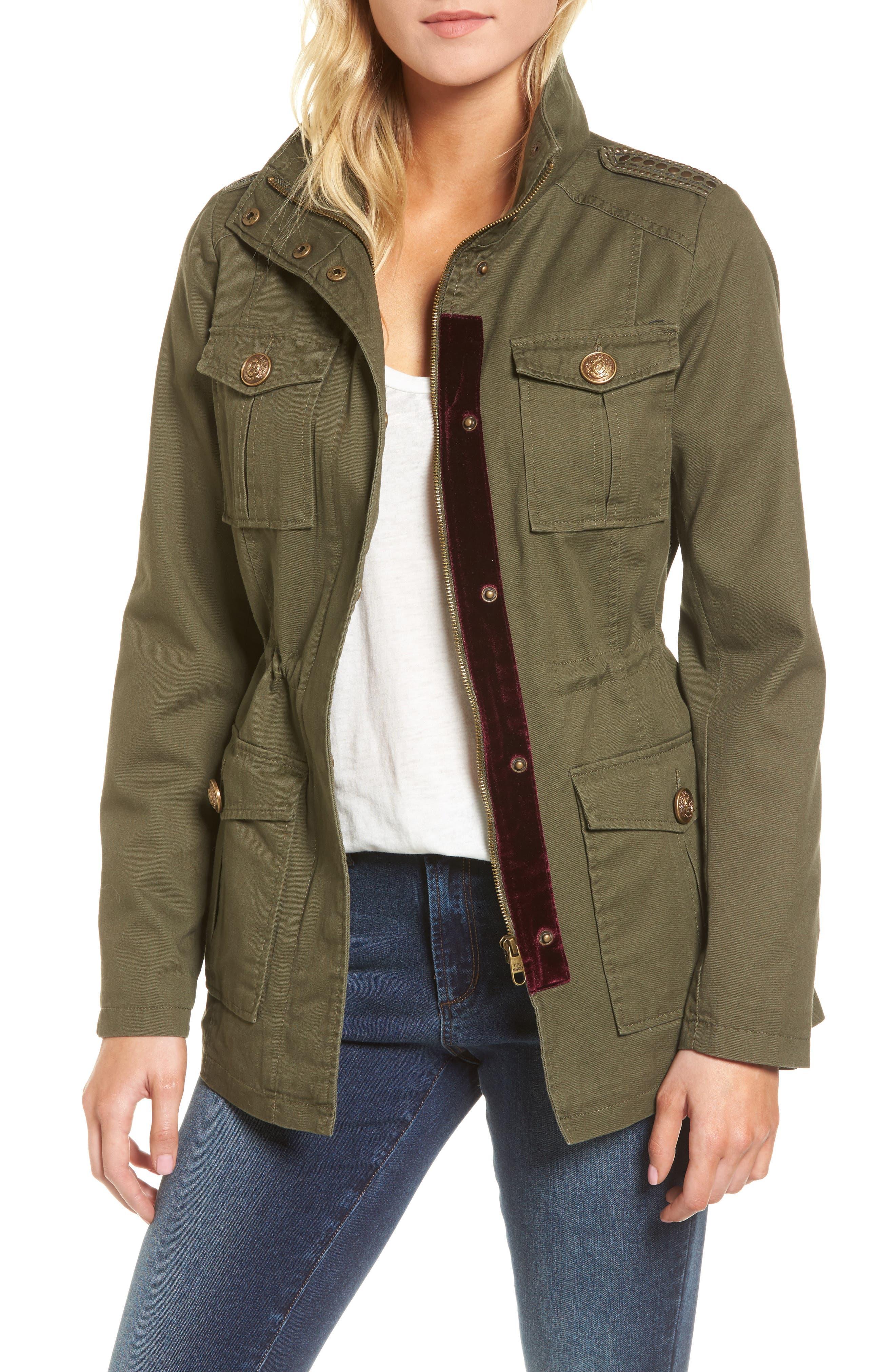 Embellished Utility Jacket,                             Main thumbnail 2, color,