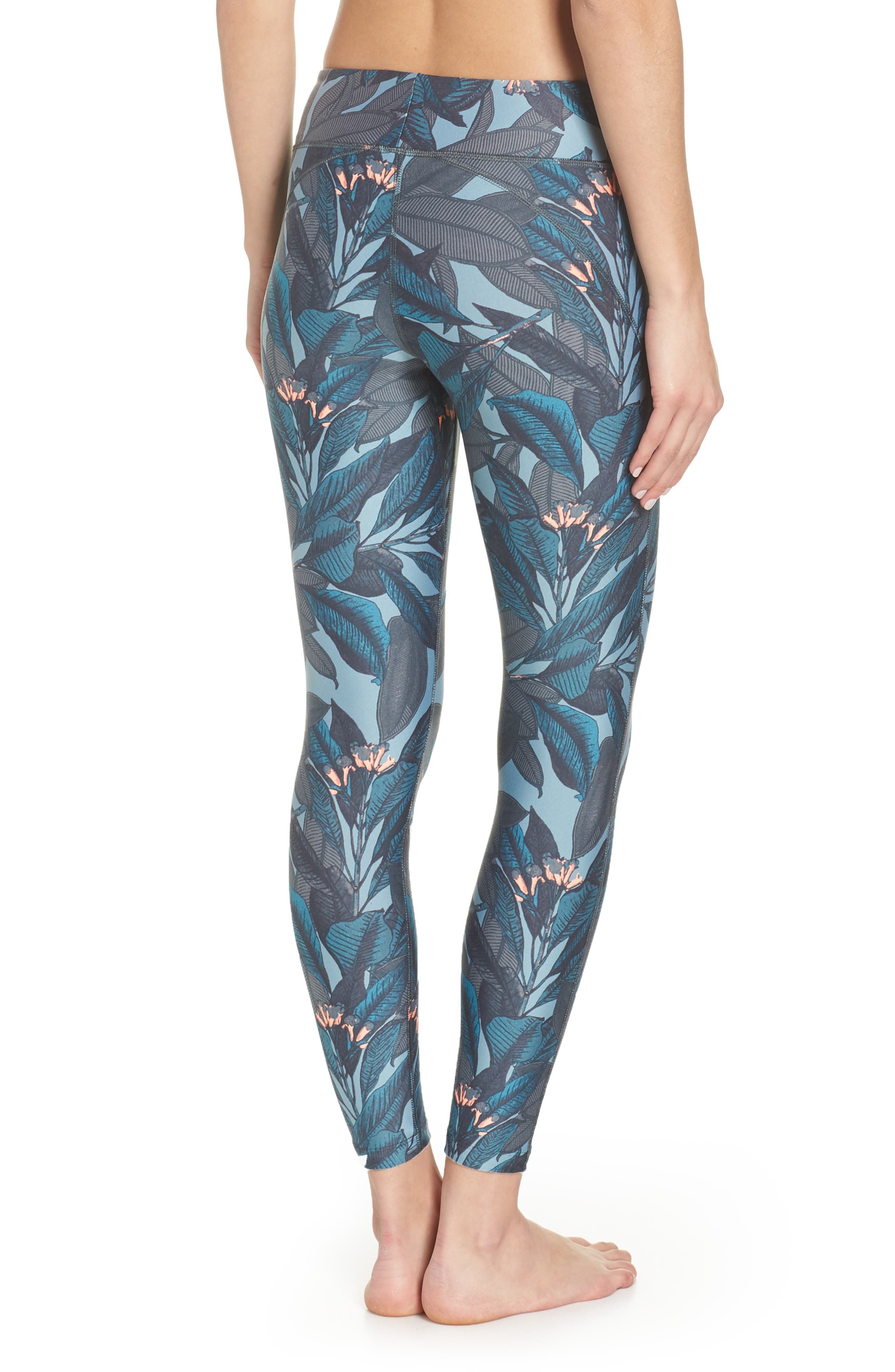 Dazzling Jungle Leggings,                             Alternate thumbnail 8, color,