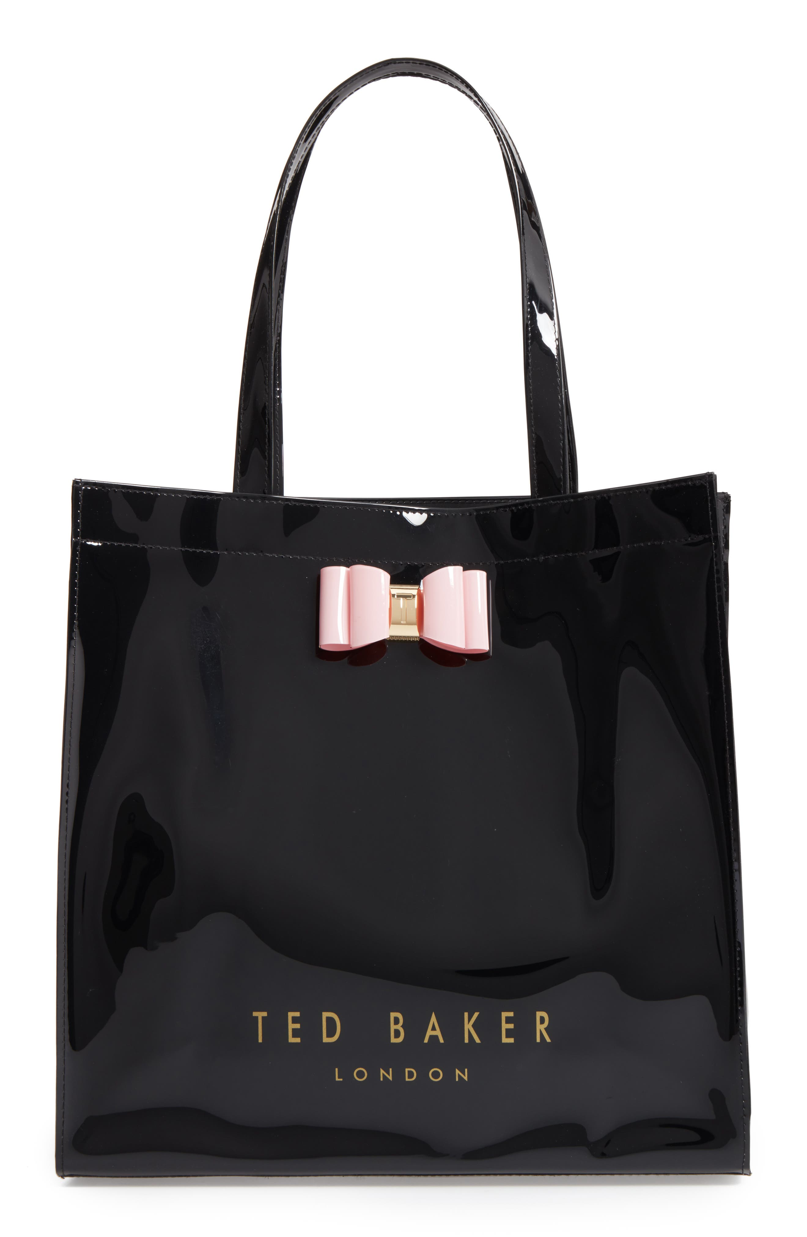 Large Icon – Bethcon Bow Tote,                         Main,                         color, 001