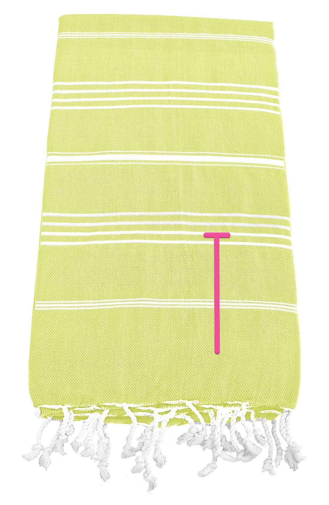 Monogram Turkish Cotton Towel,                             Main thumbnail 49, color,