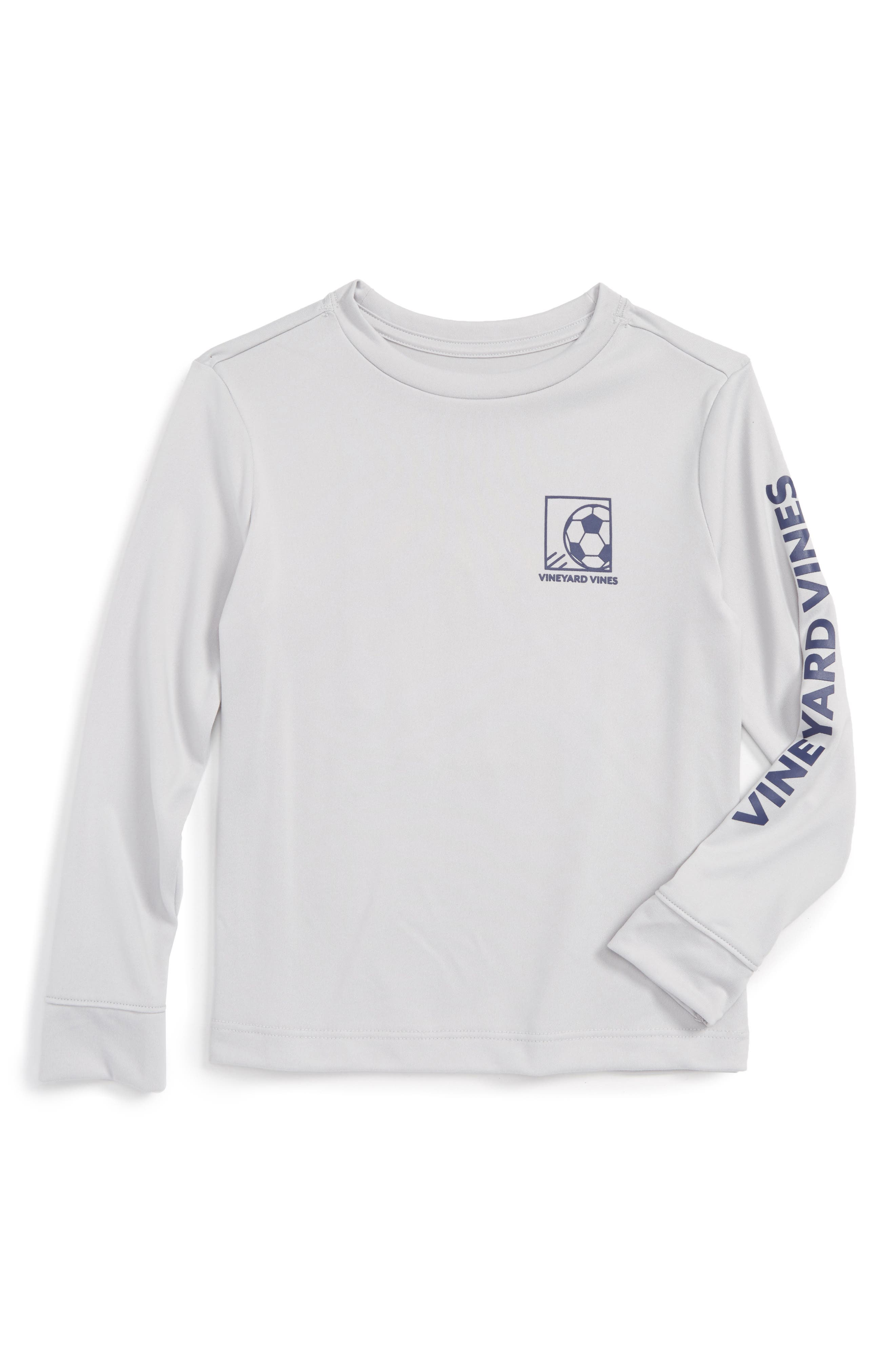 VINEYARD VINES,                             Soccer Box Performance T-Shirt,                             Alternate thumbnail 2, color,                             062