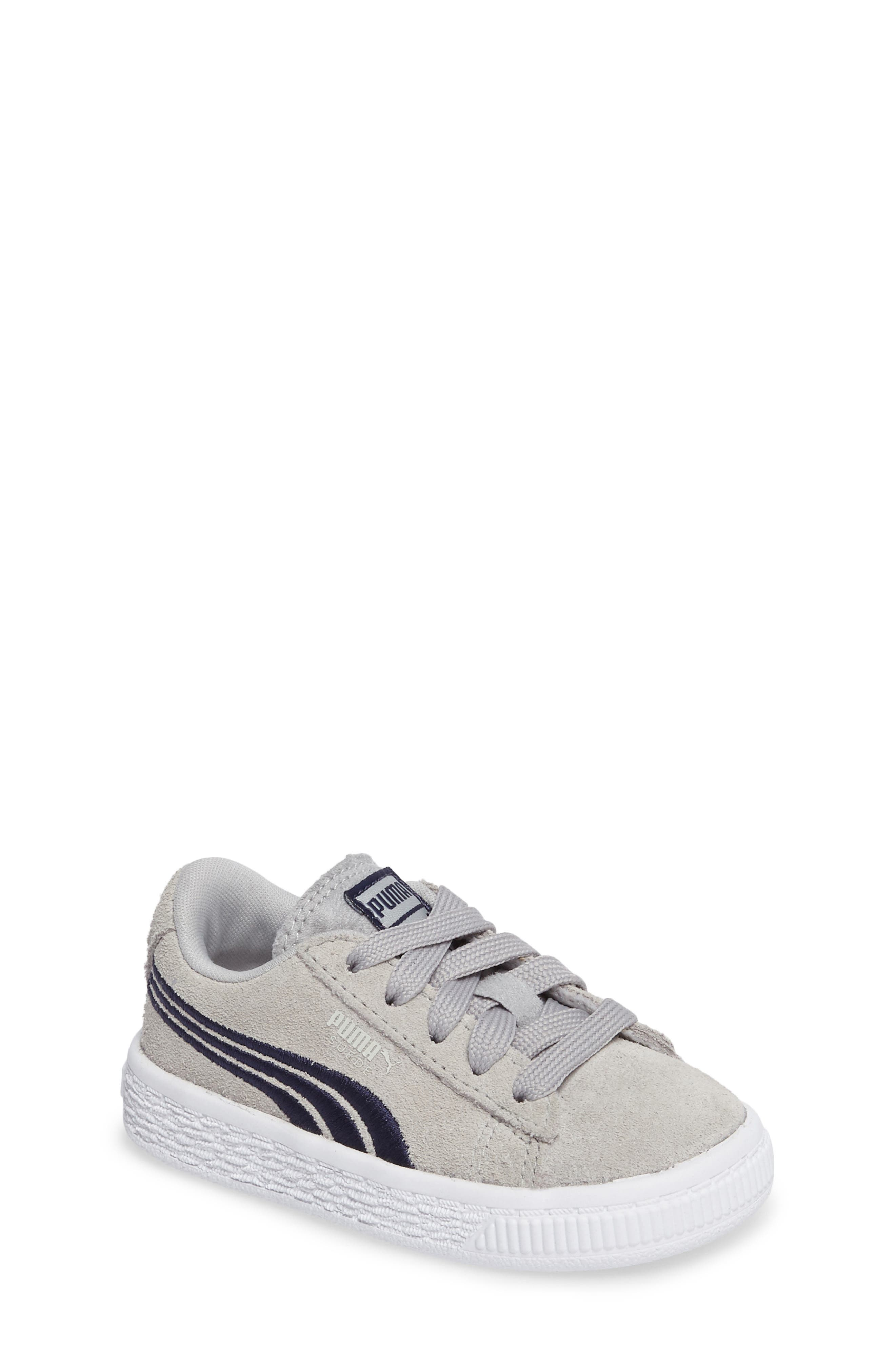 Suede Classic Badge Sneaker,                         Main,                         color, 060