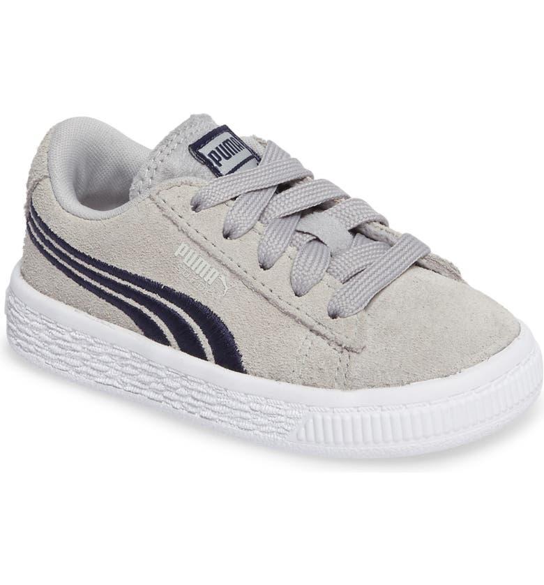 563523eead4b41 PUMA Suede Classic Badge Sneaker (Baby