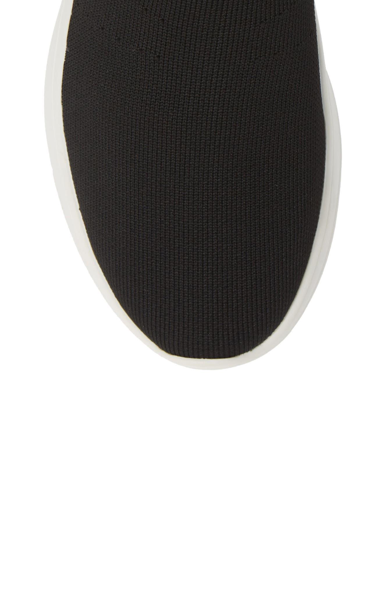 Found Sock Sneaker,                             Alternate thumbnail 5, color,                             BLACK