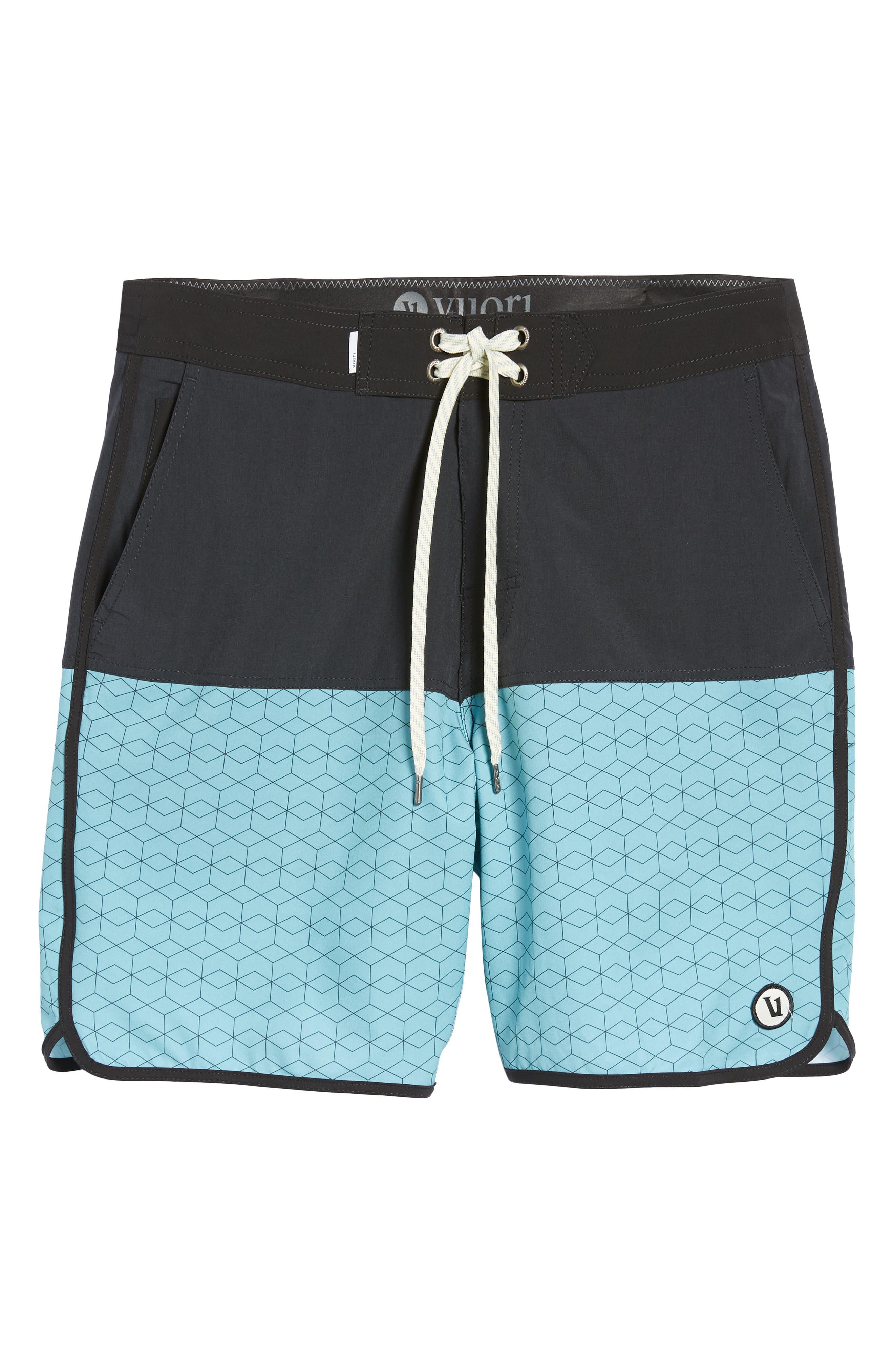 Cruise Hybrid Board Shorts,                             Alternate thumbnail 6, color,                             401