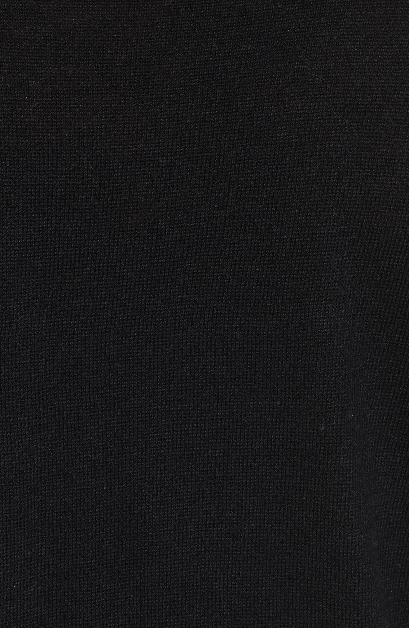 Lucasta Ruffle Sweater,                             Alternate thumbnail 5, color,                             002