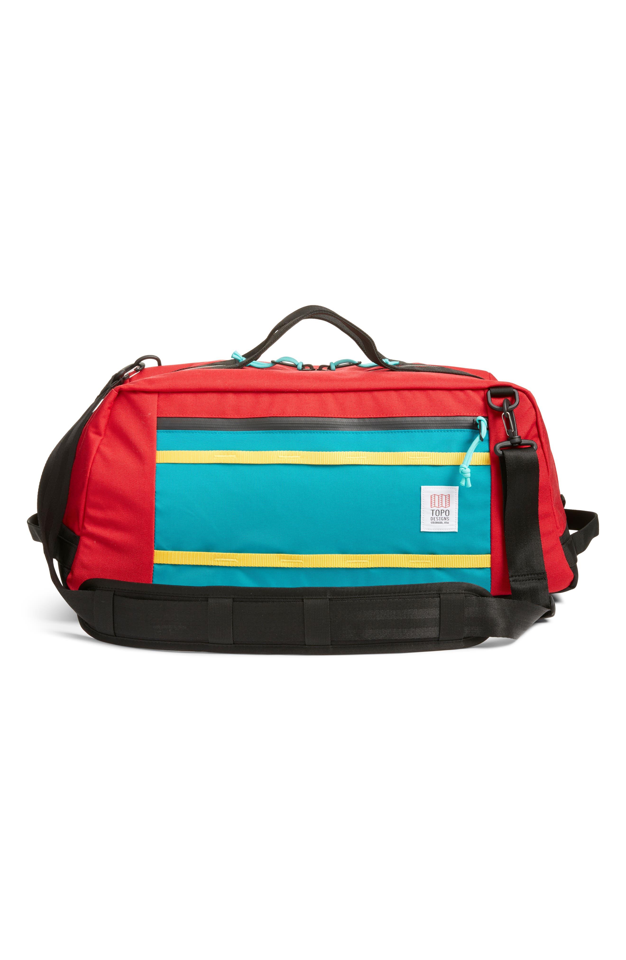 Mountain 40L Convertible Duffel Bag,                             Alternate thumbnail 3, color,                             600