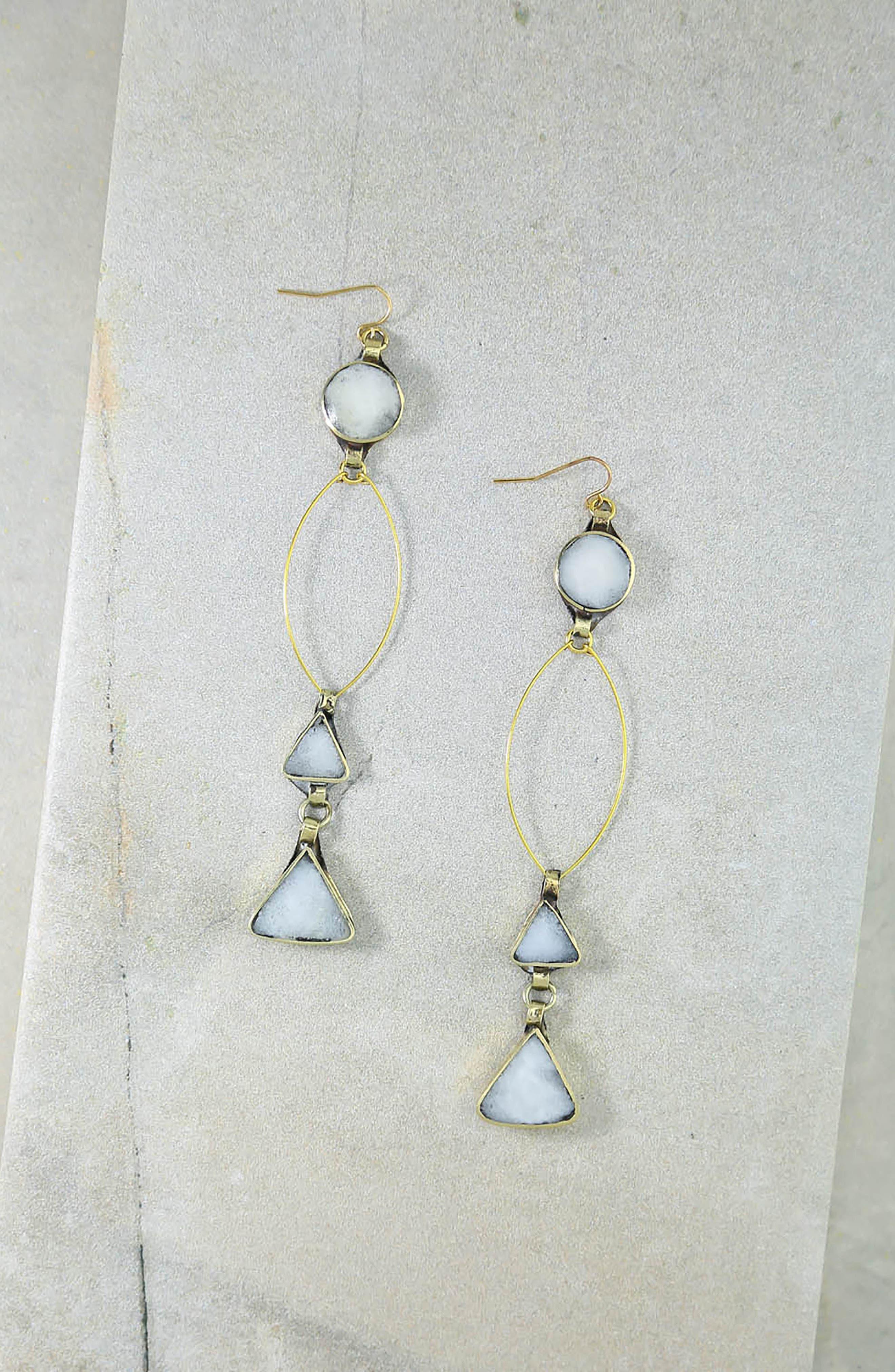 Wynonna Drop Earrings,                             Alternate thumbnail 4, color,                             710
