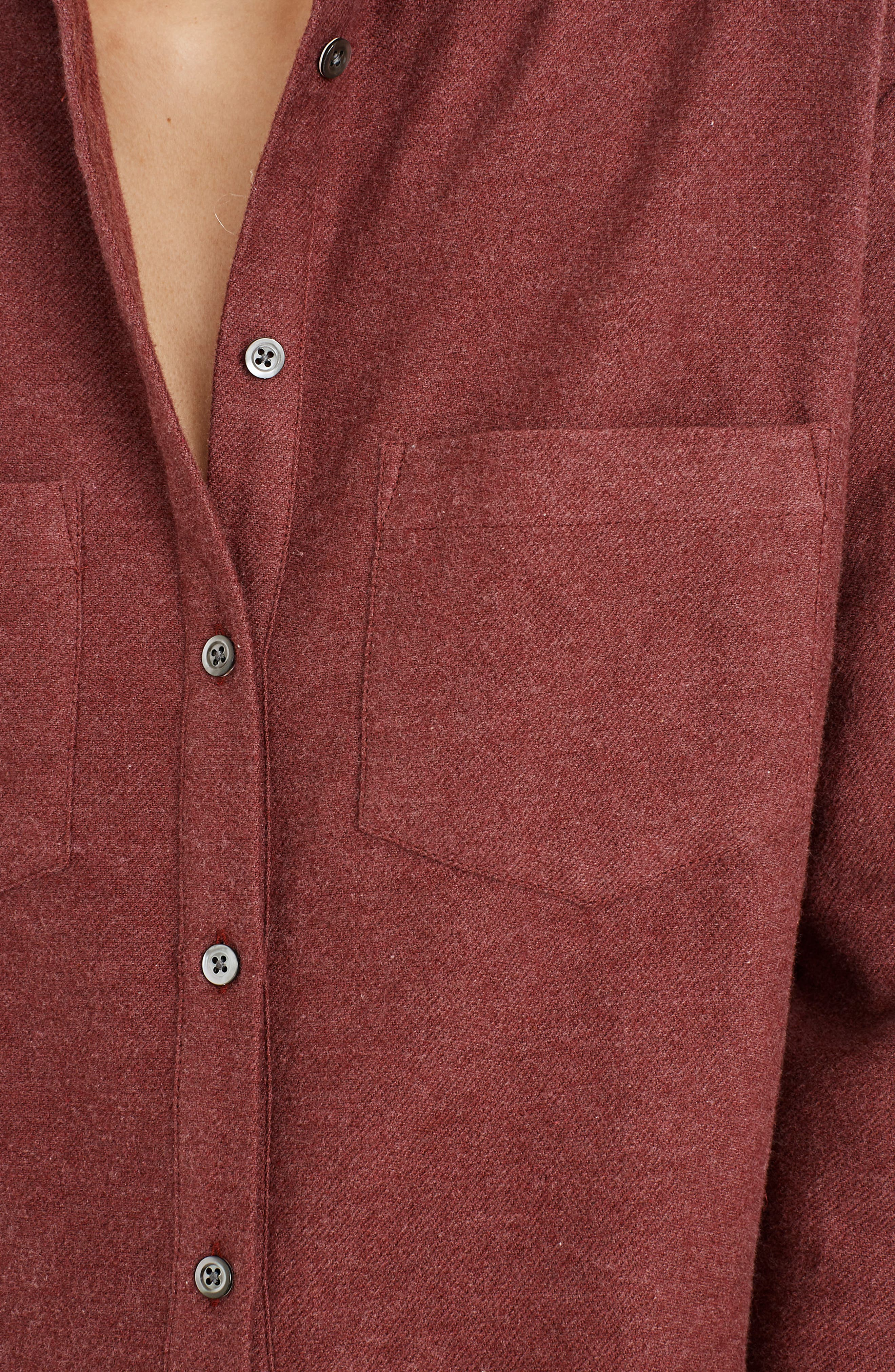 MADEWELL,                             Flannel Sunday Shirt,                             Alternate thumbnail 5, color,                             600