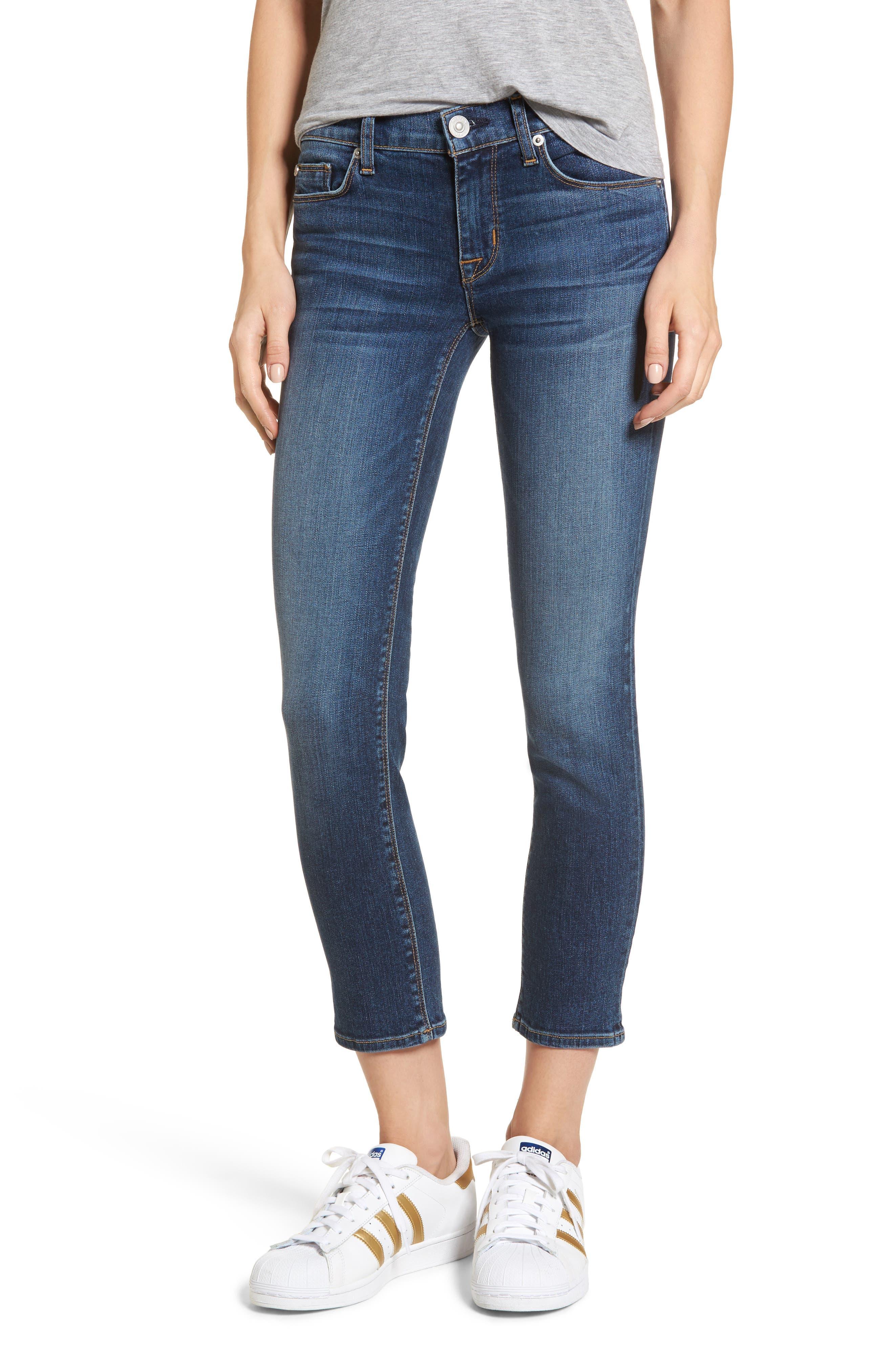 Tally Unfamed Hem Skinny Jeans,                             Main thumbnail 3, color,