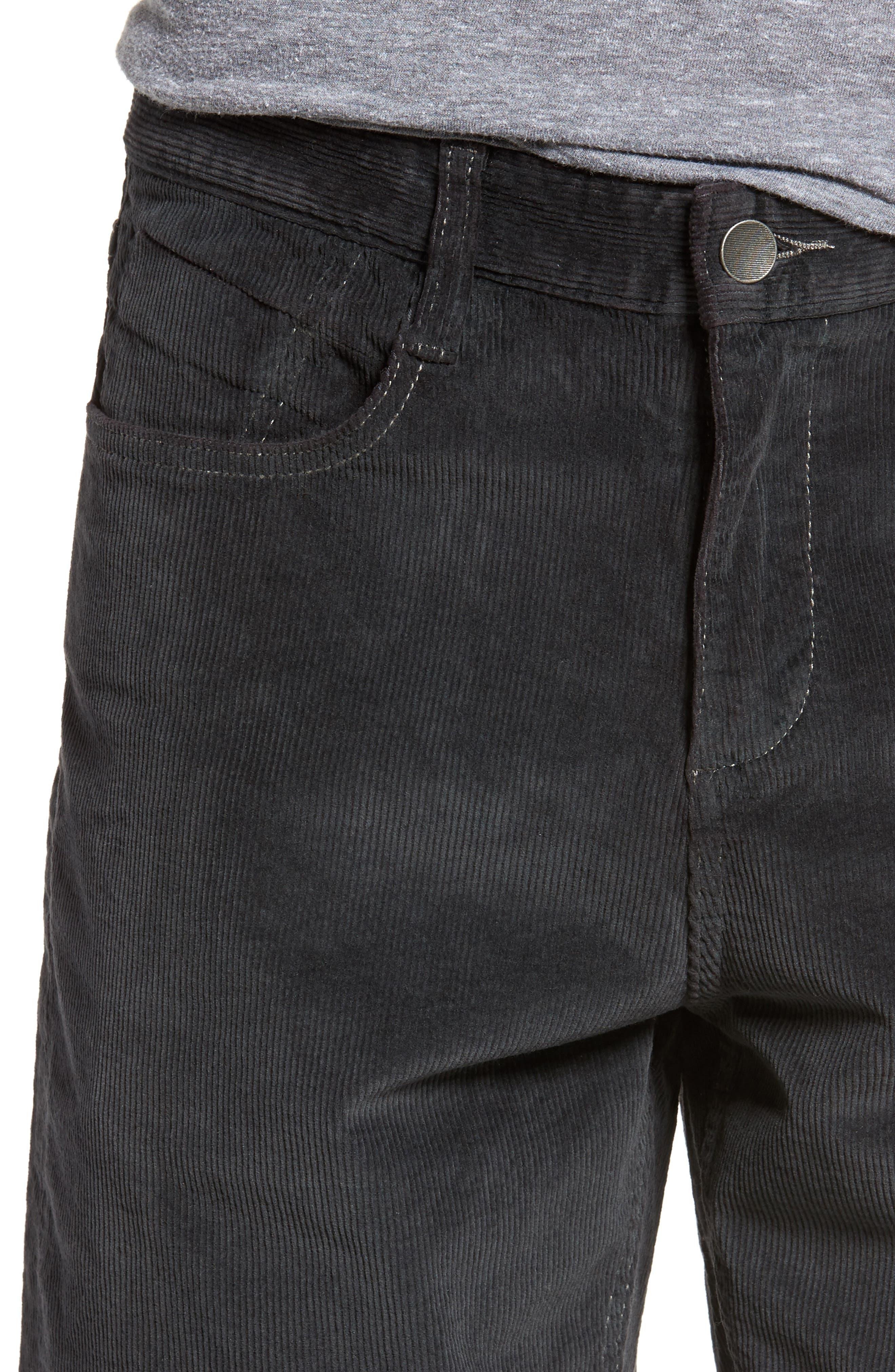 Outsider Corduroy Shorts,                             Alternate thumbnail 4, color,                             010