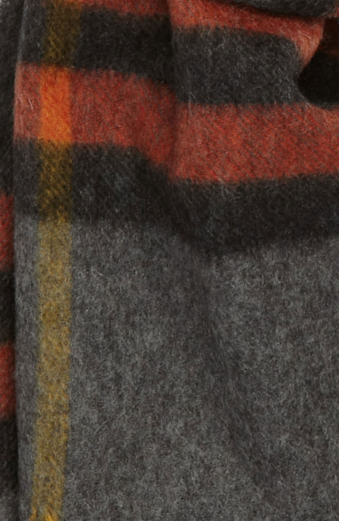 Heritage Check Cashmere Scarf,                             Alternate thumbnail 34, color,