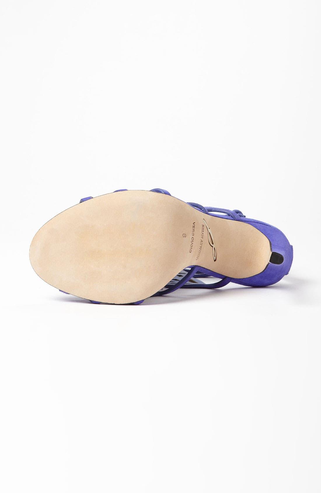 'Laplata' High Sandal,                             Alternate thumbnail 4, color,                             500
