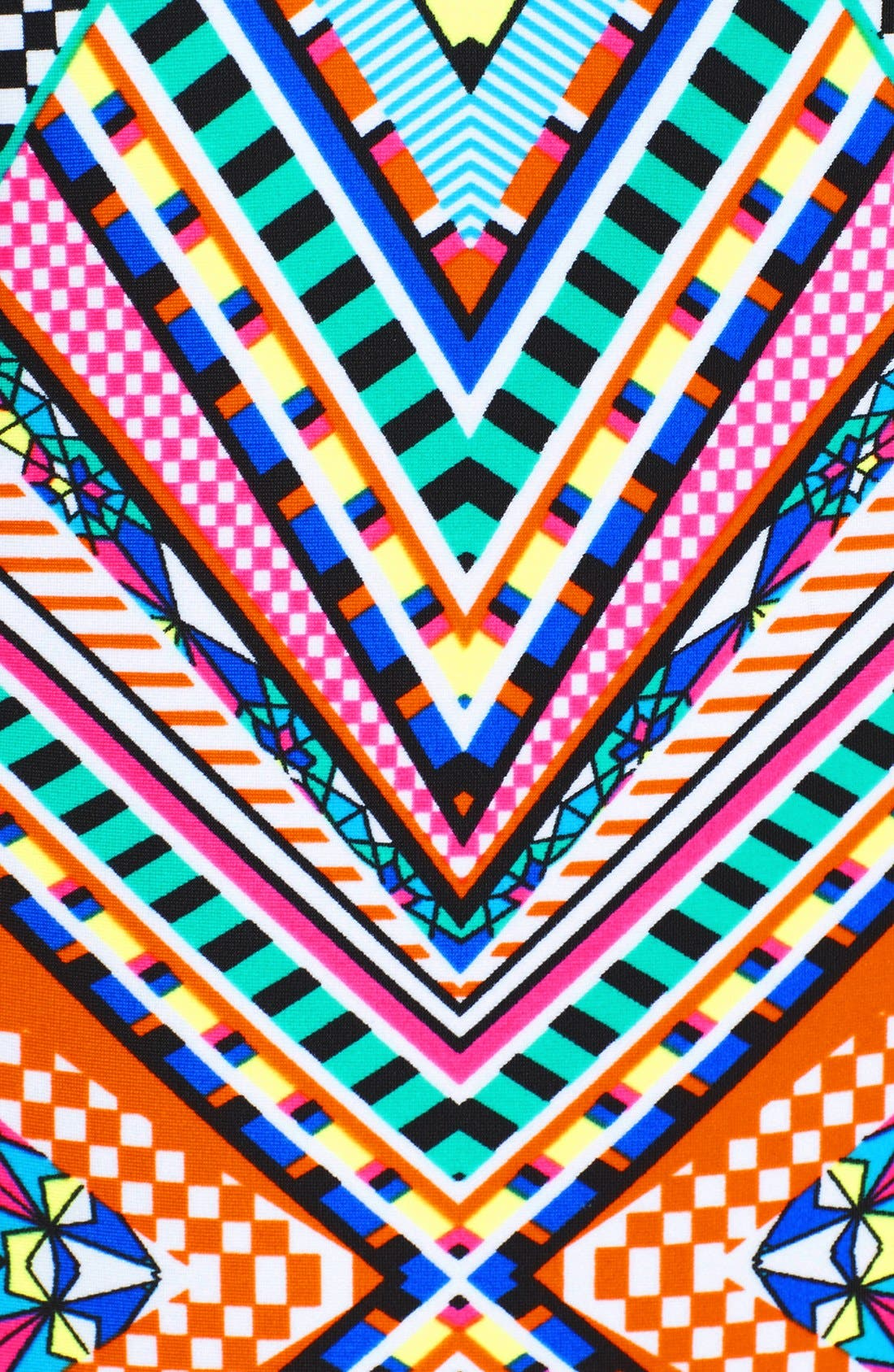 JESSICA SIMPSON,                             'Venice Beach' Cutout One-Piece Swimsuit,                             Alternate thumbnail 2, color,                             001