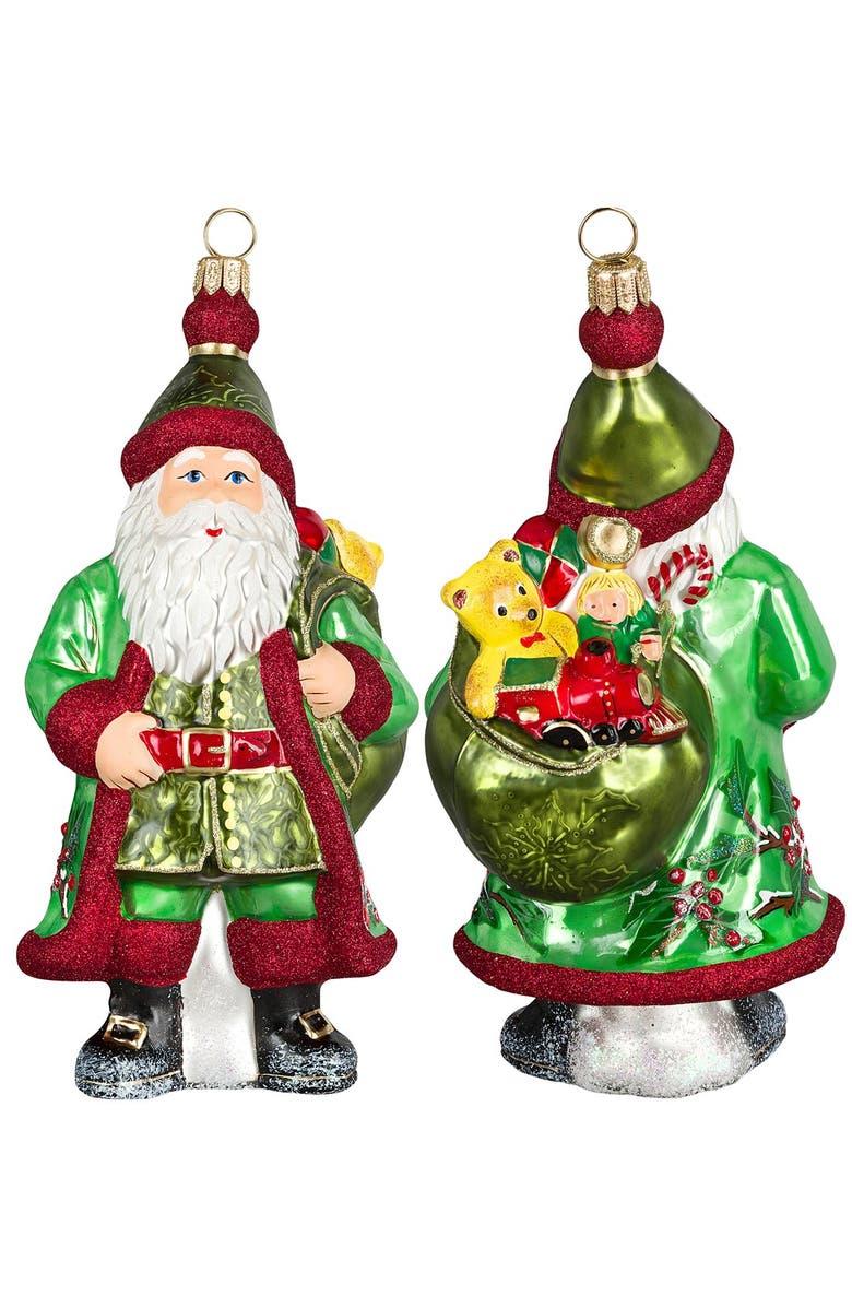 Joy To The World Collectibles Galician Santa Ornament