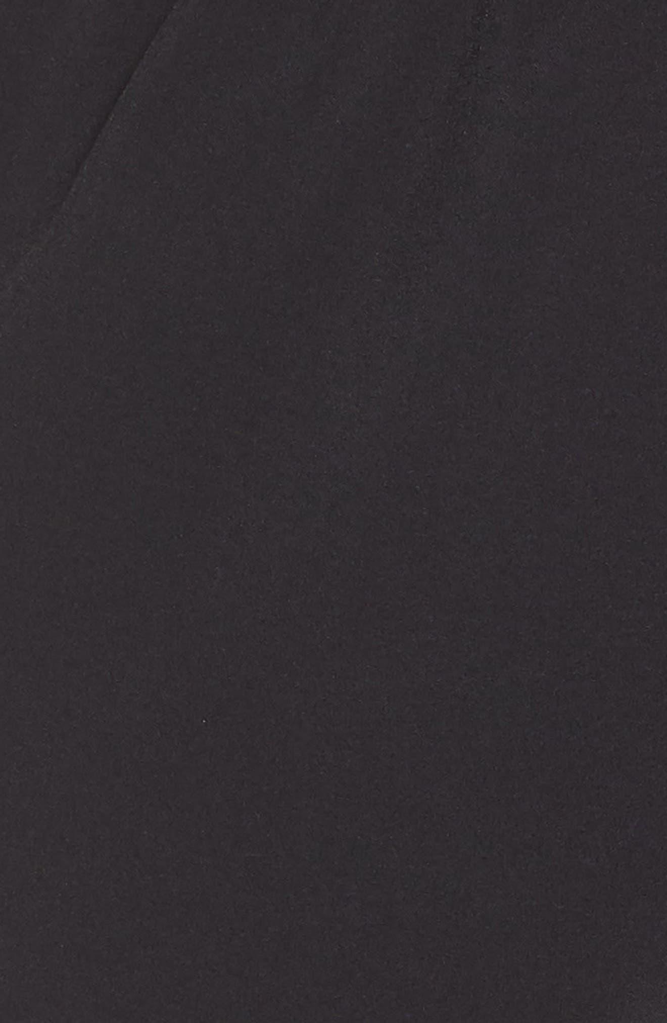 Hoop Shorts,                             Alternate thumbnail 6, color,                             BLACK