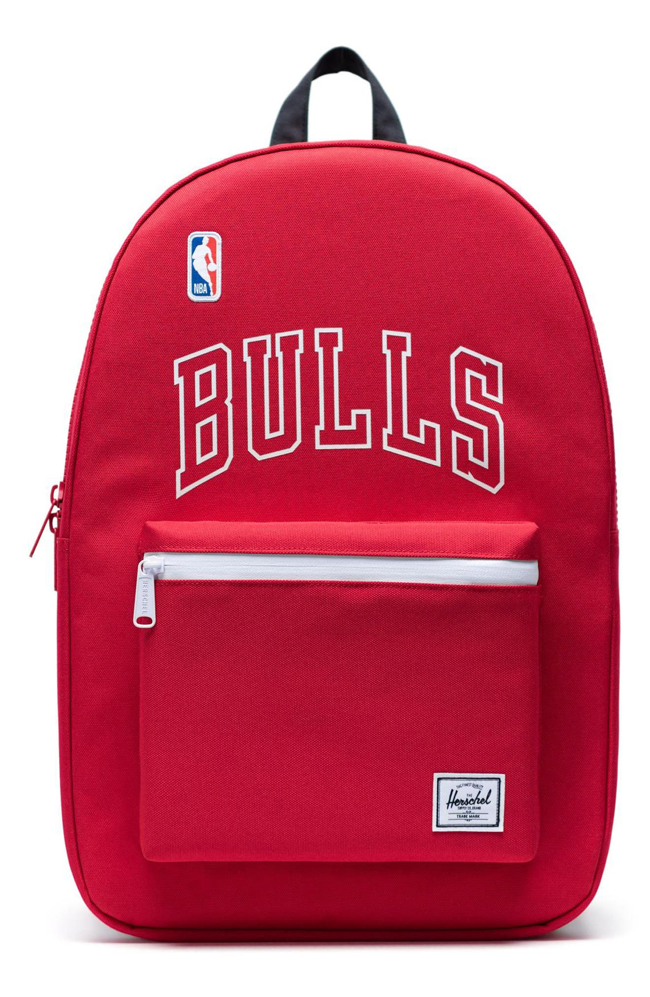 Herschel Supply Co. Settlement Nba Champions 15-Inch Laptop Backpack - Red
