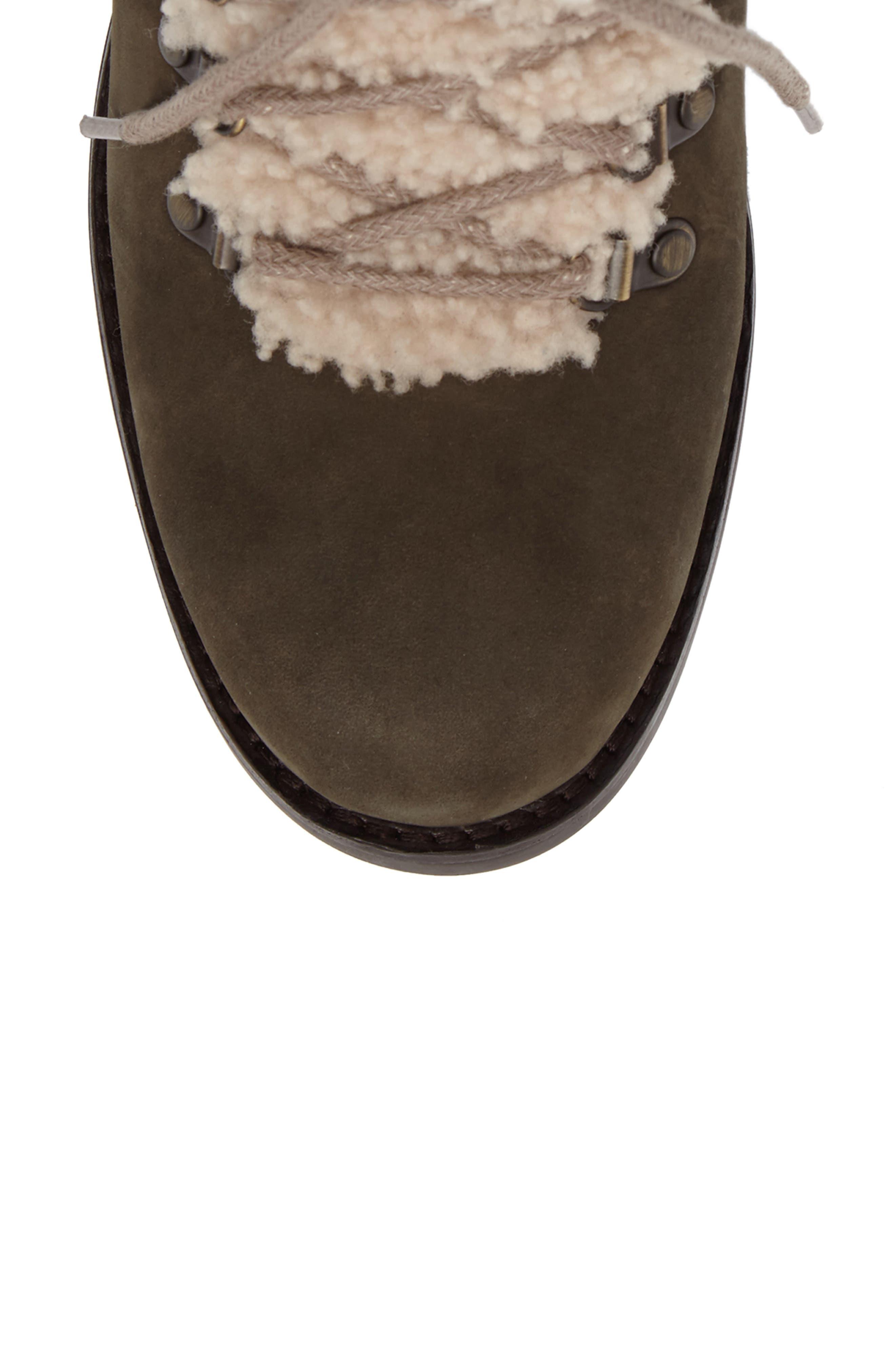 Fraser Genuine Shearling Water Resistant Boot,                             Alternate thumbnail 18, color,