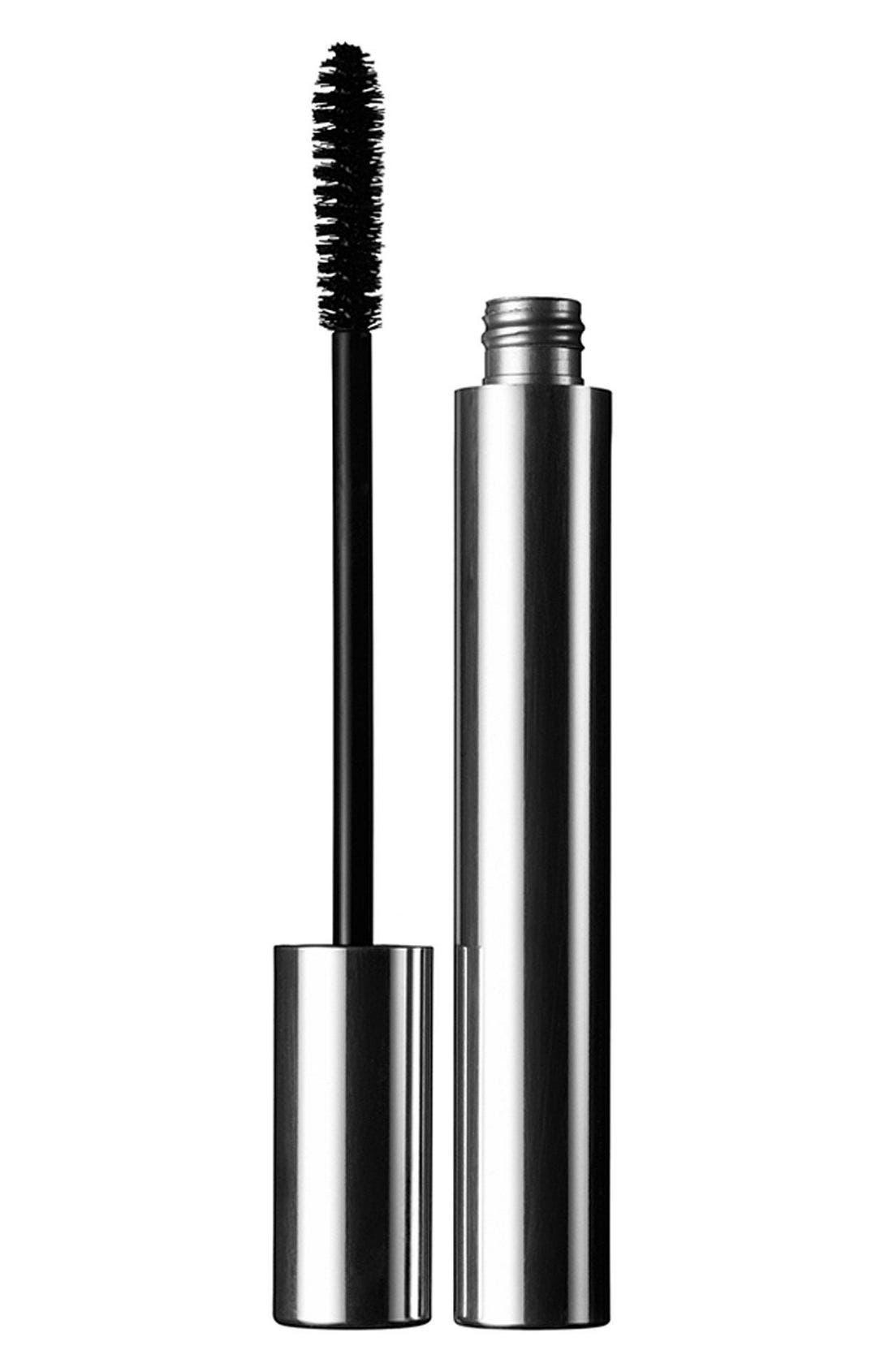 CLINIQUE,                             Naturally Glossy Mascara,                             Main thumbnail 1, color,                             JET BLACK