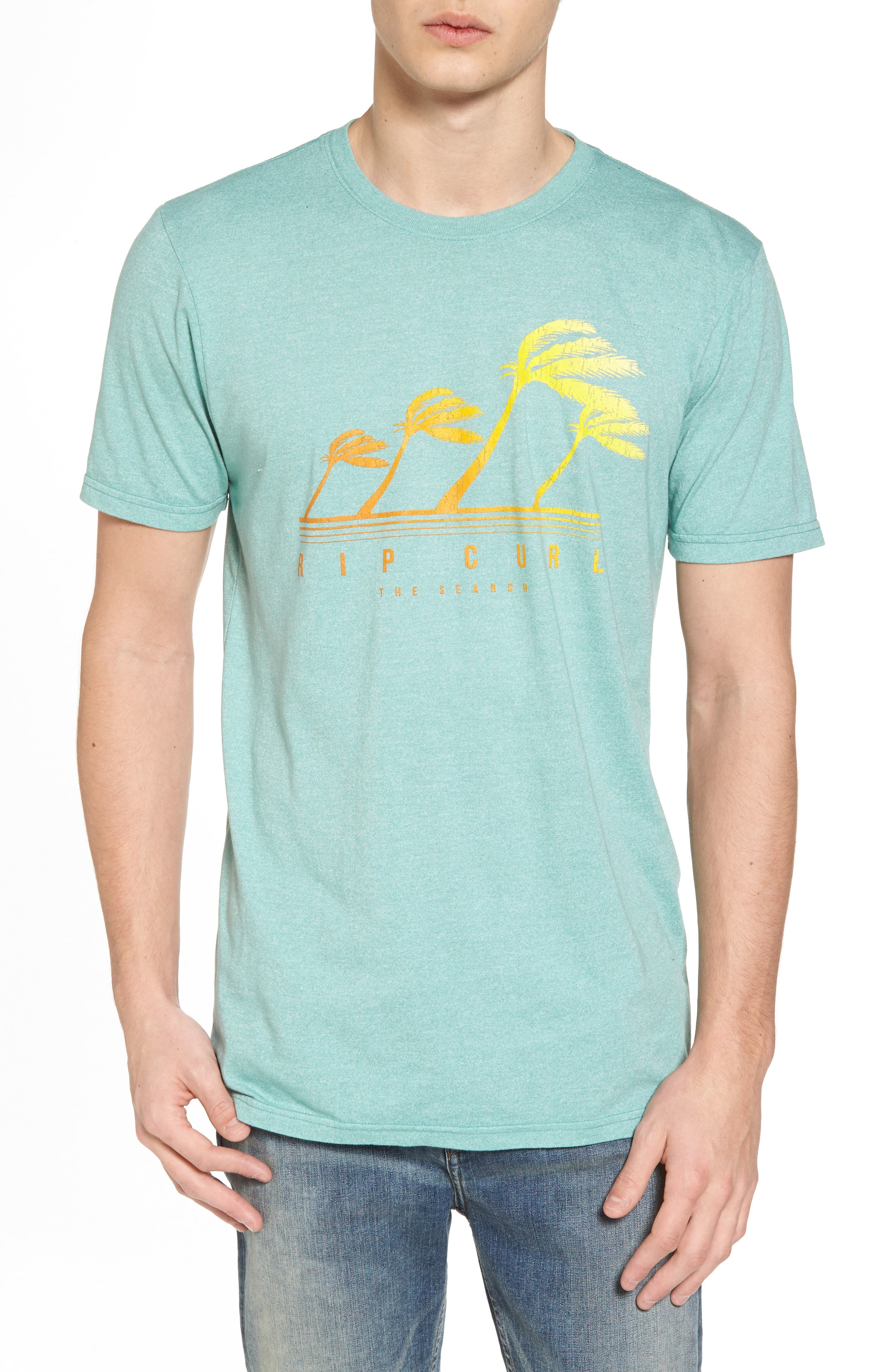 Accelerate Mock Twist T-Shirt,                             Main thumbnail 1, color,                             GREEN