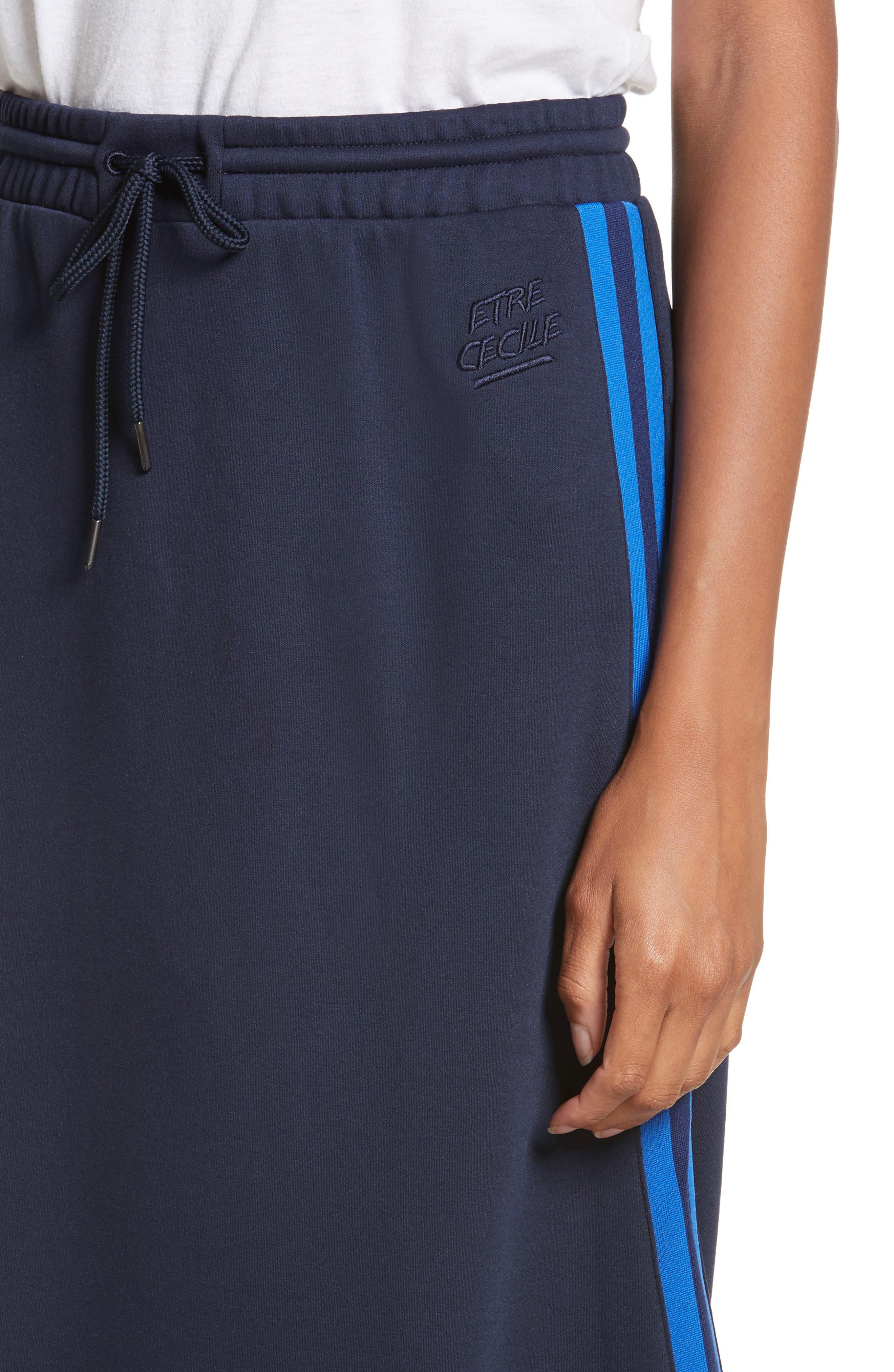être cécile A-Line Midi Skirt,                             Alternate thumbnail 4, color,                             400
