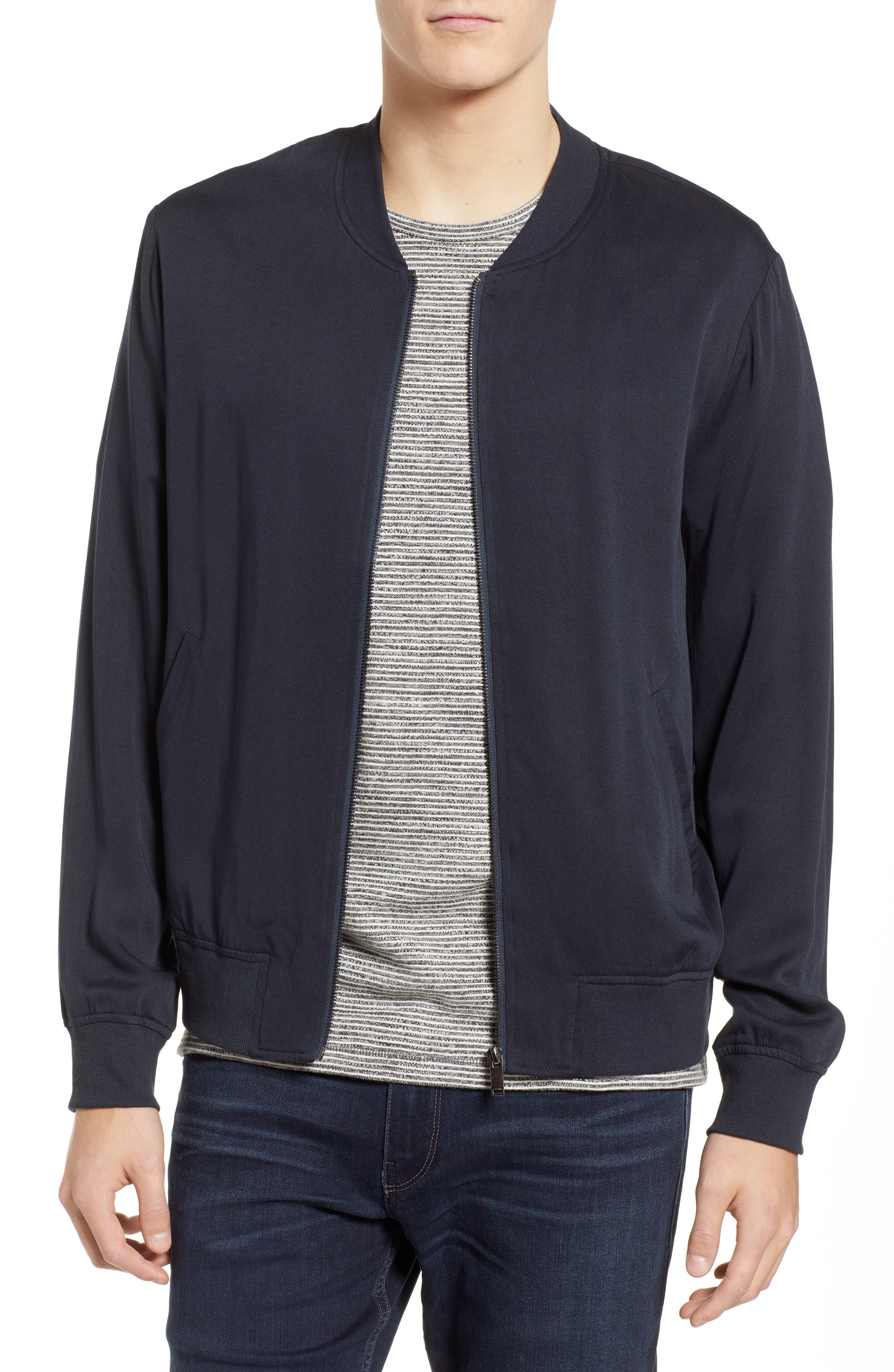 Lightweight Woven Jacket,                             Main thumbnail 1, color,                             CARBON