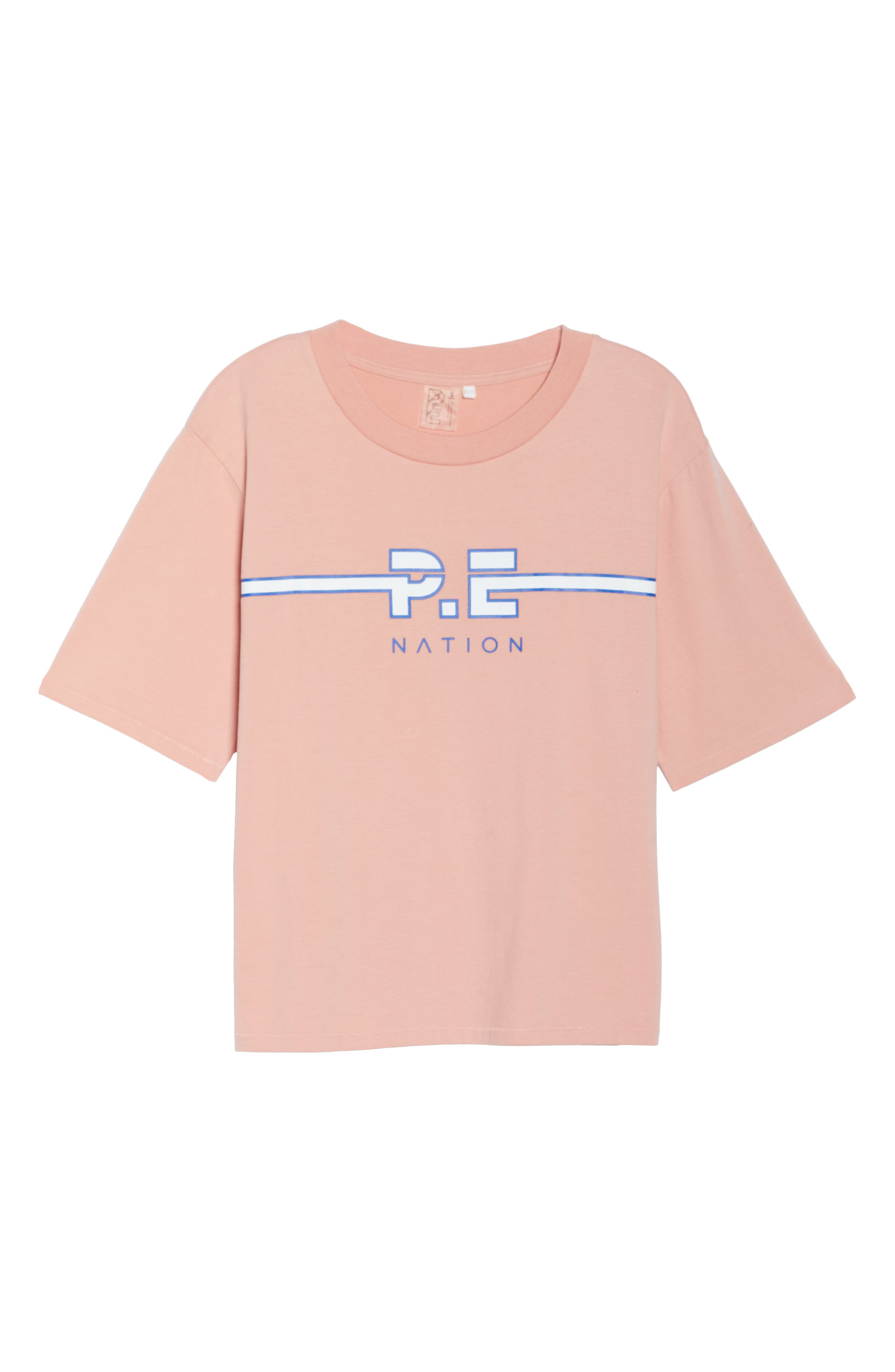 Active Duty Tee,                             Alternate thumbnail 7, color,                             PASTEL PINK