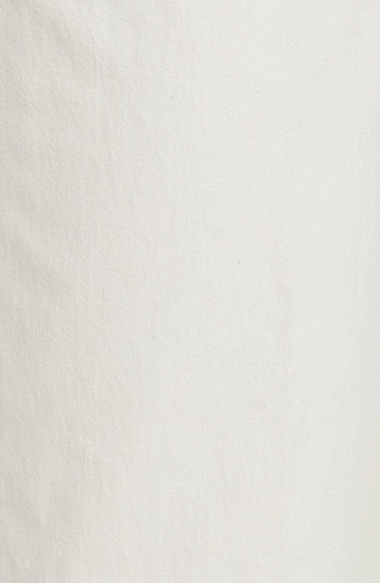 Rachey Comey Legion Crop Wide Leg Pants,                             Alternate thumbnail 5, color,                             DIRTY WHITE