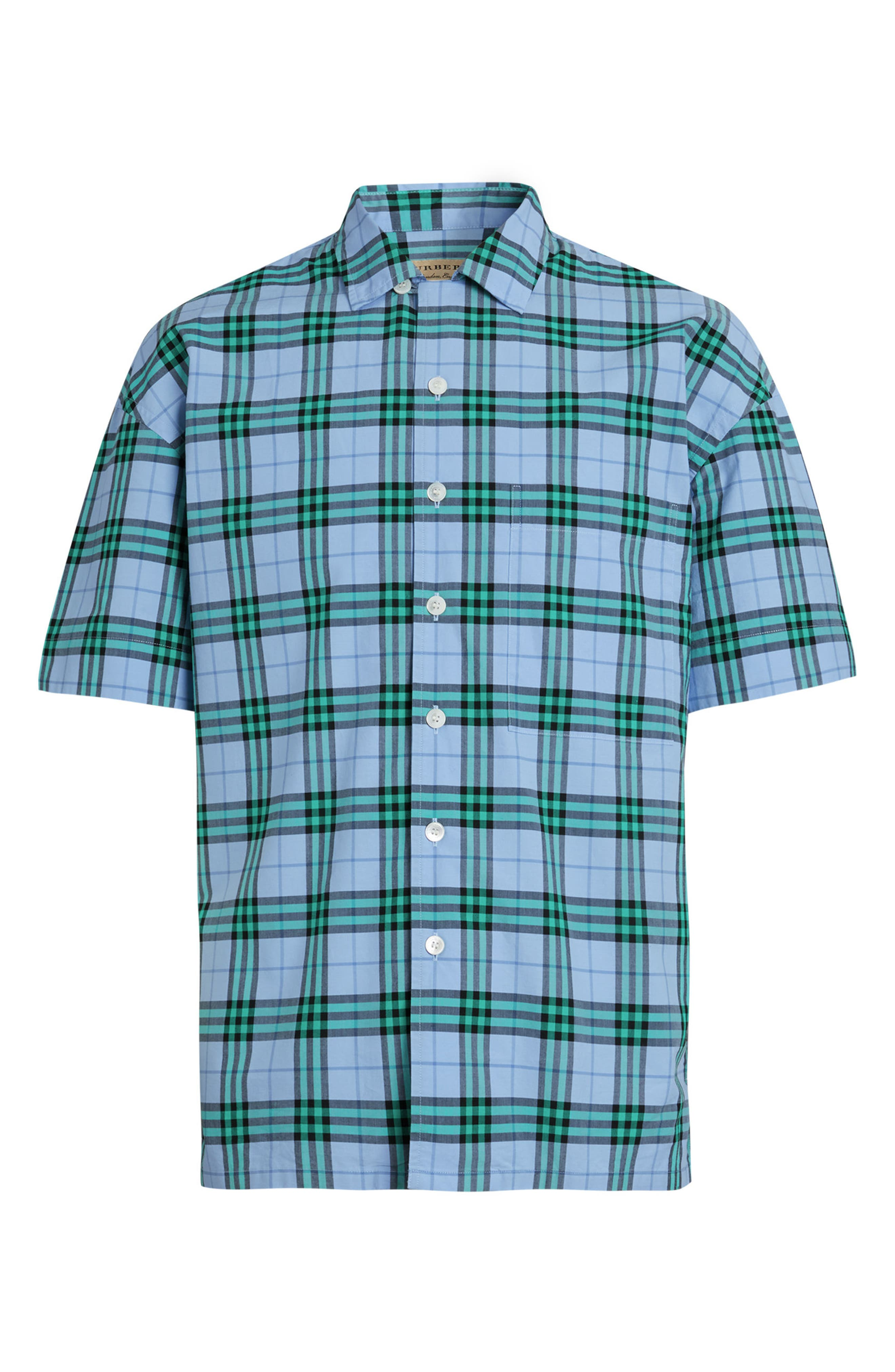 Harely Check Camp Shirt,                             Alternate thumbnail 4, color,                             400