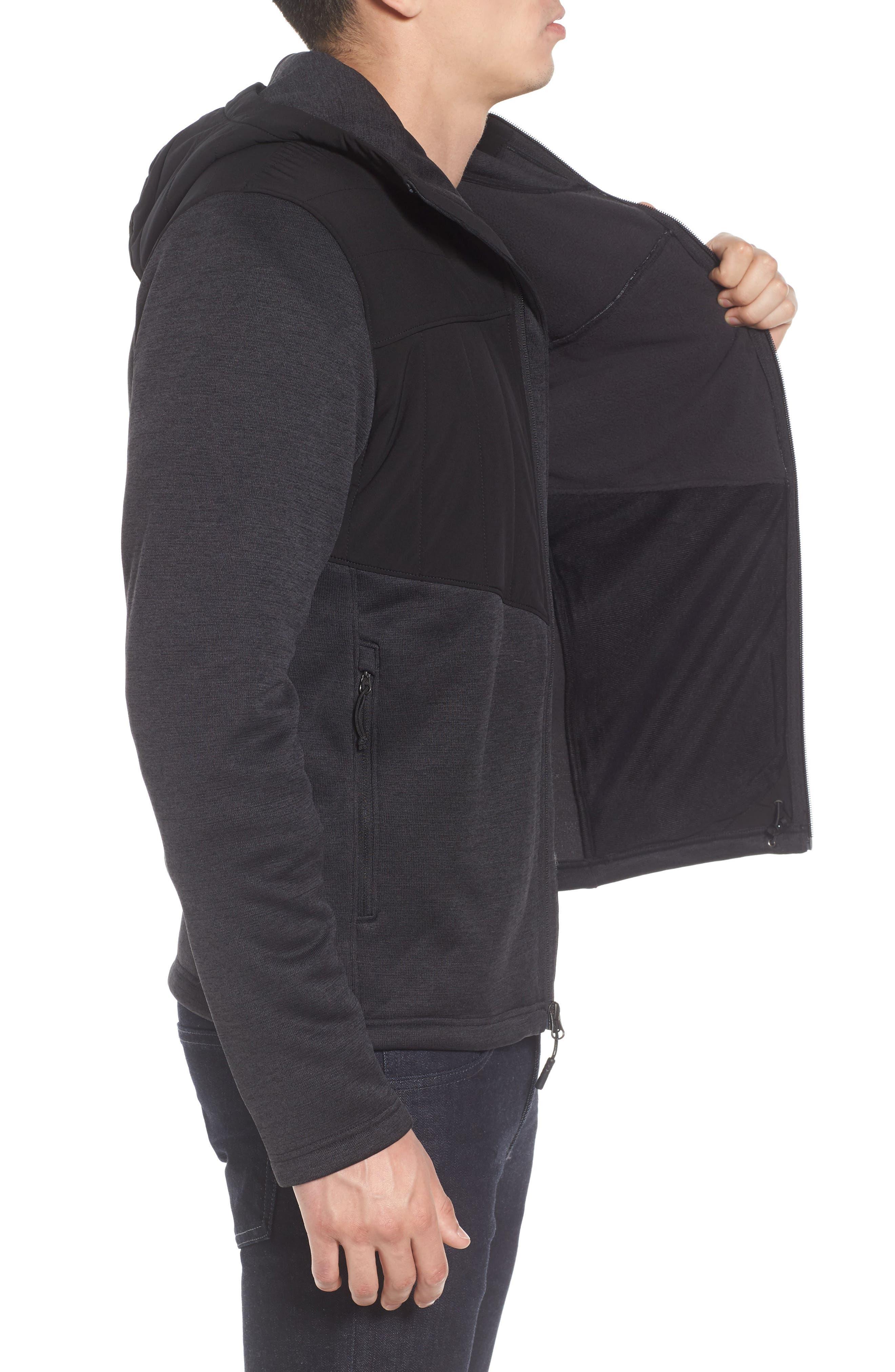 Norris Insulated Fleece Jacket,                             Alternate thumbnail 3, color,