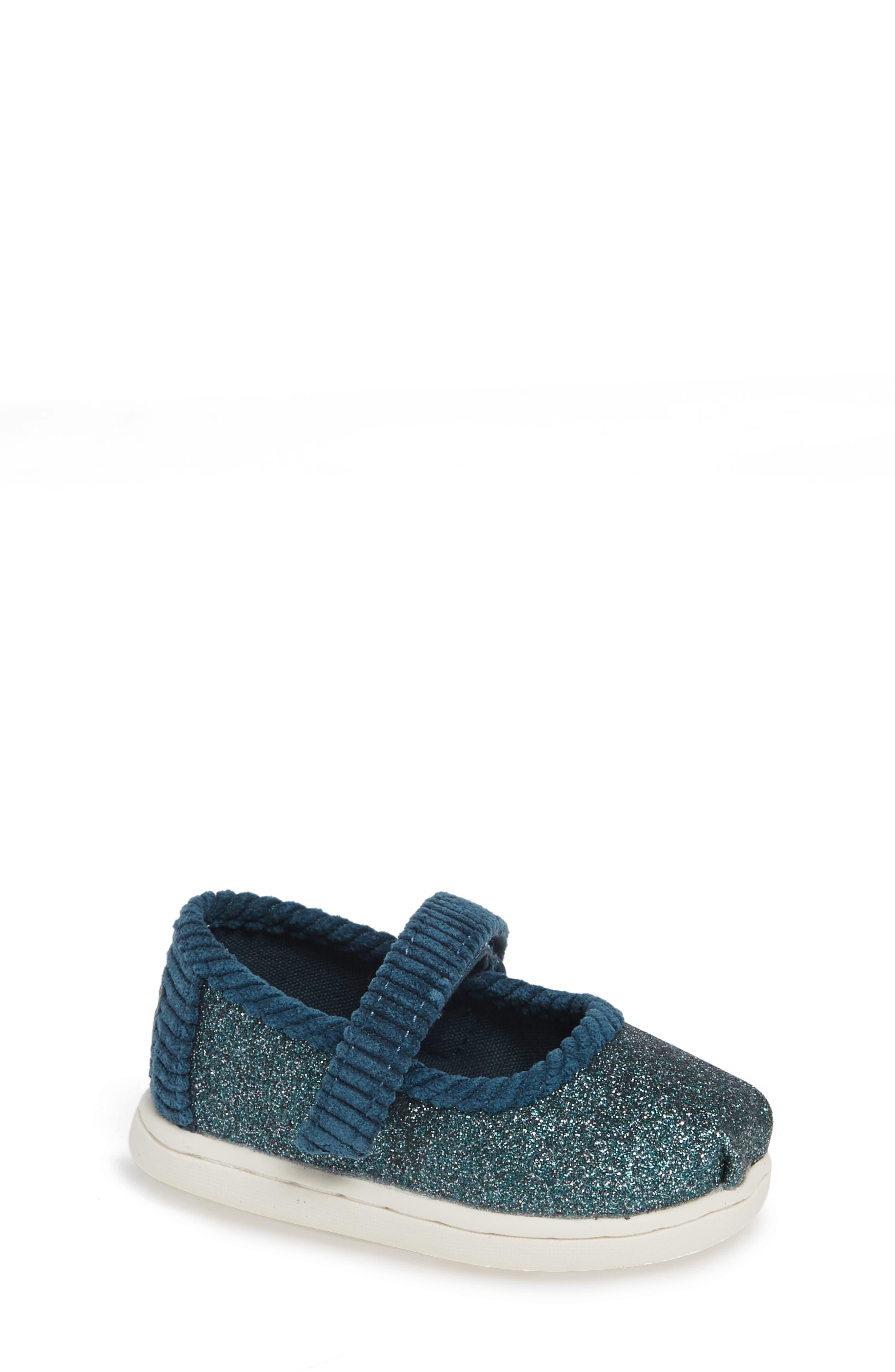 Mary Jane Sneaker,                         Main,                         color, ATLANTIC IRIDESCENT/ CORDUROY